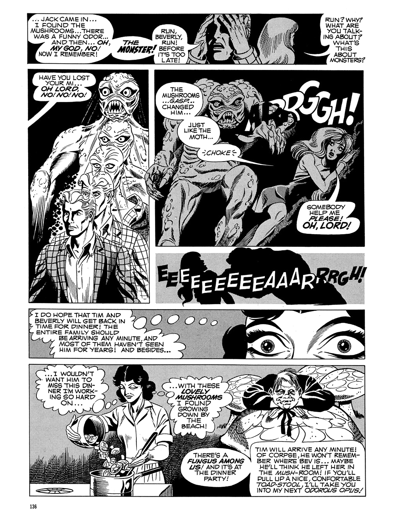 Read online Eerie Archives comic -  Issue # TPB 5 - 137