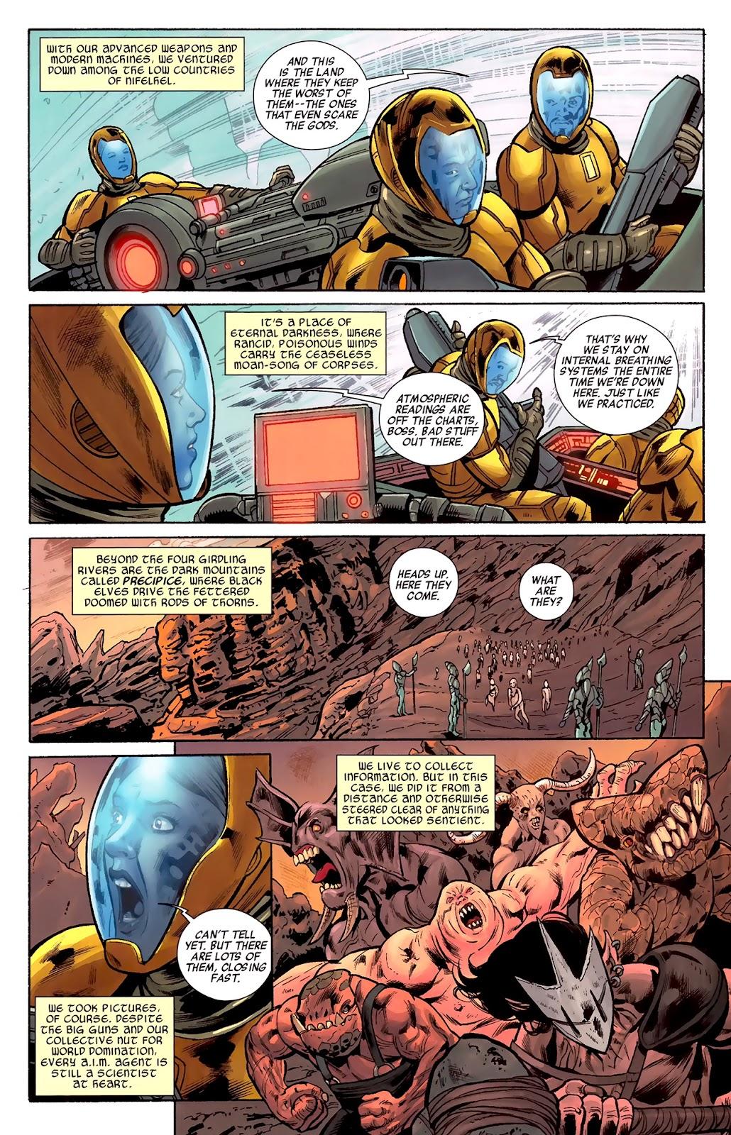 Warriors Three Issue #1 #1 - English 11