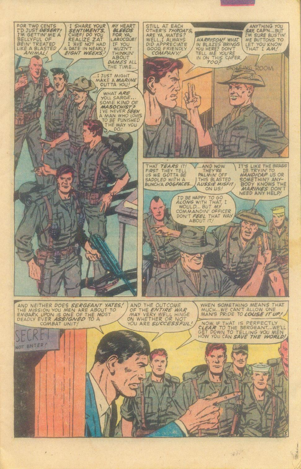 Read online Sgt. Fury comic -  Issue #160 - 5