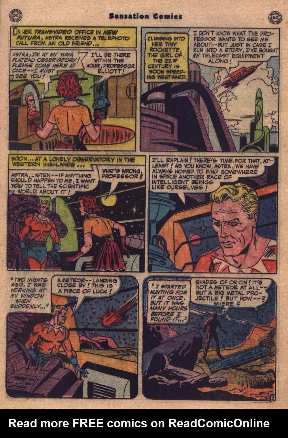 Read online Sensation (Mystery) Comics comic -  Issue #103 - 15