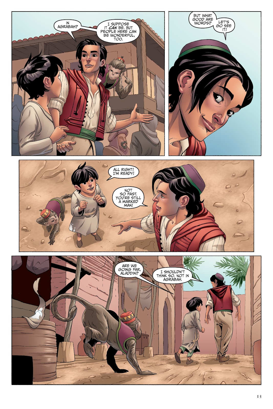 Read online Disney Aladdin: Four Tales of Agrabah comic -  Issue # TPB - 13