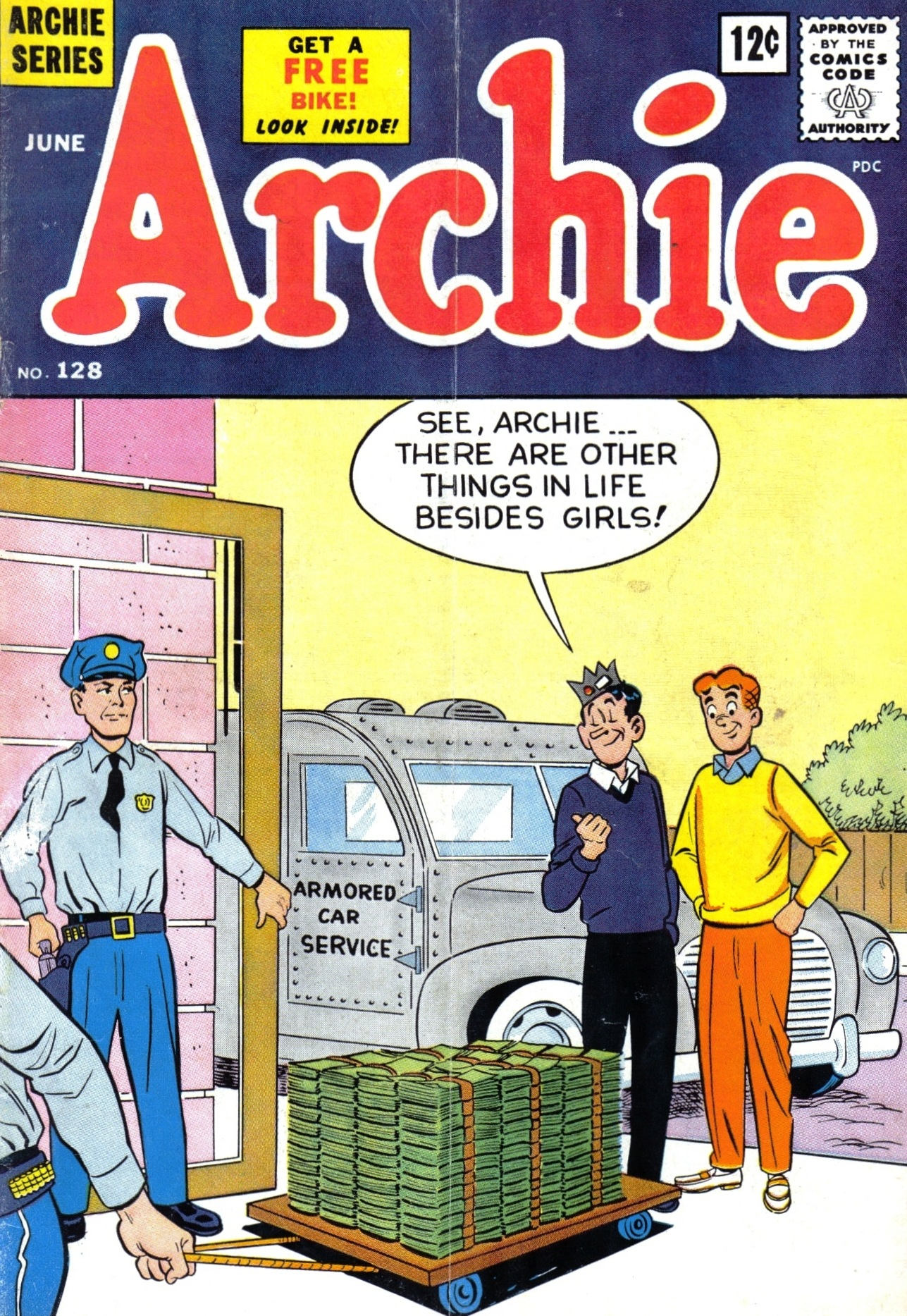 Read online Archie (1960) comic -  Issue #128 - 1