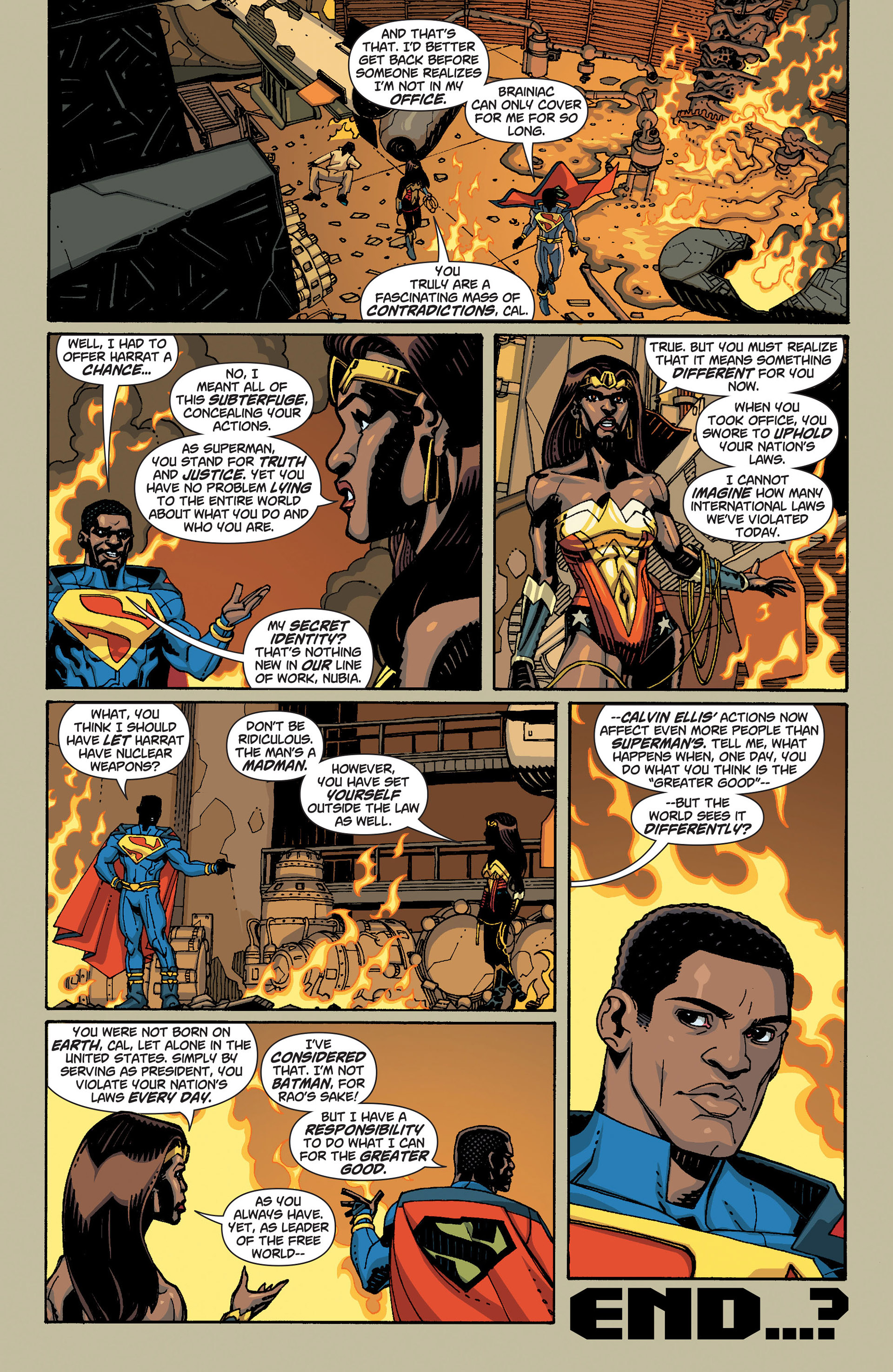 Read online Action Comics (2011) comic -  Issue #9 - 31