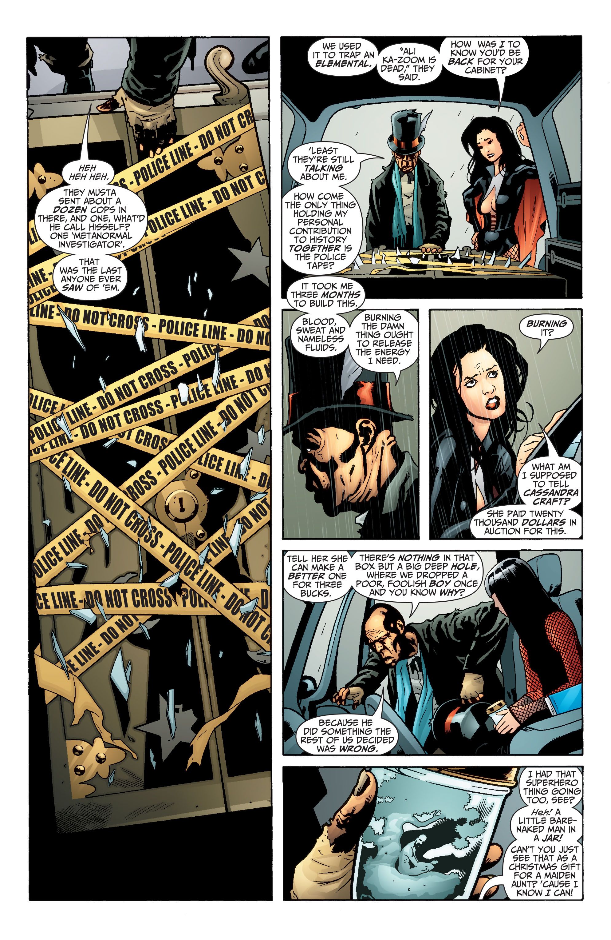 Read online Seven Soldiers: Zatanna comic -  Issue #3 - 8