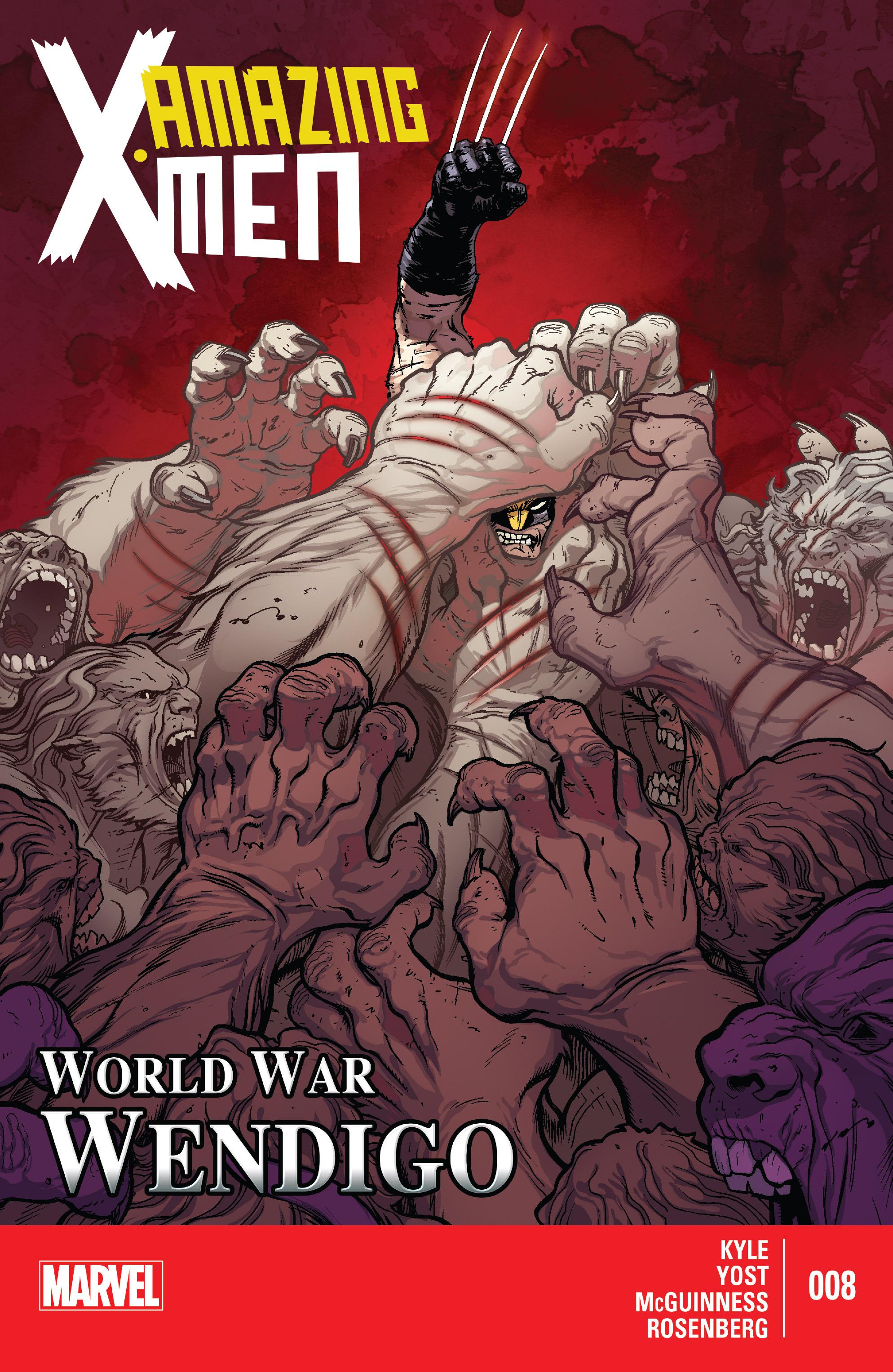 Read online Amazing X-Men (2014) comic -  Issue #8 - 1