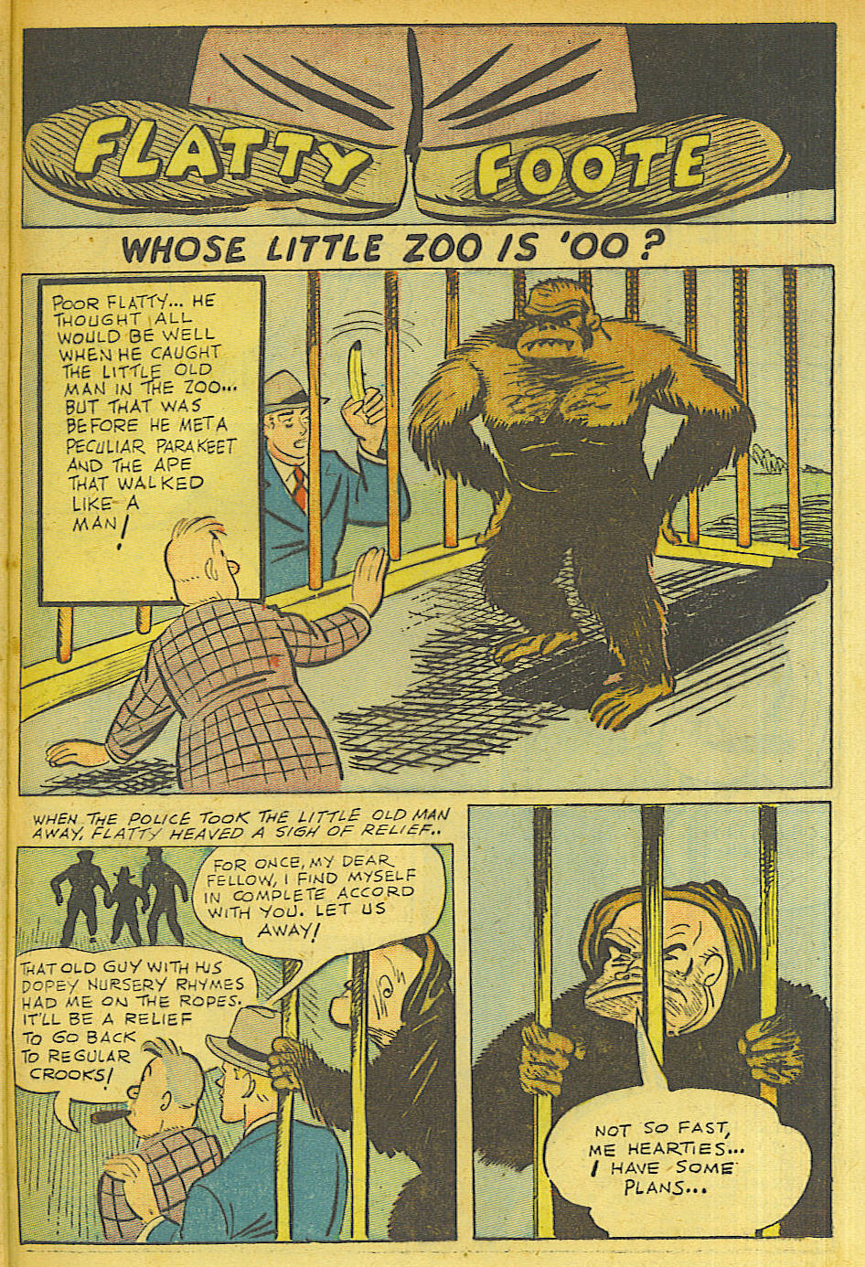 Read online Shadow Comics comic -  Issue #63 - 35