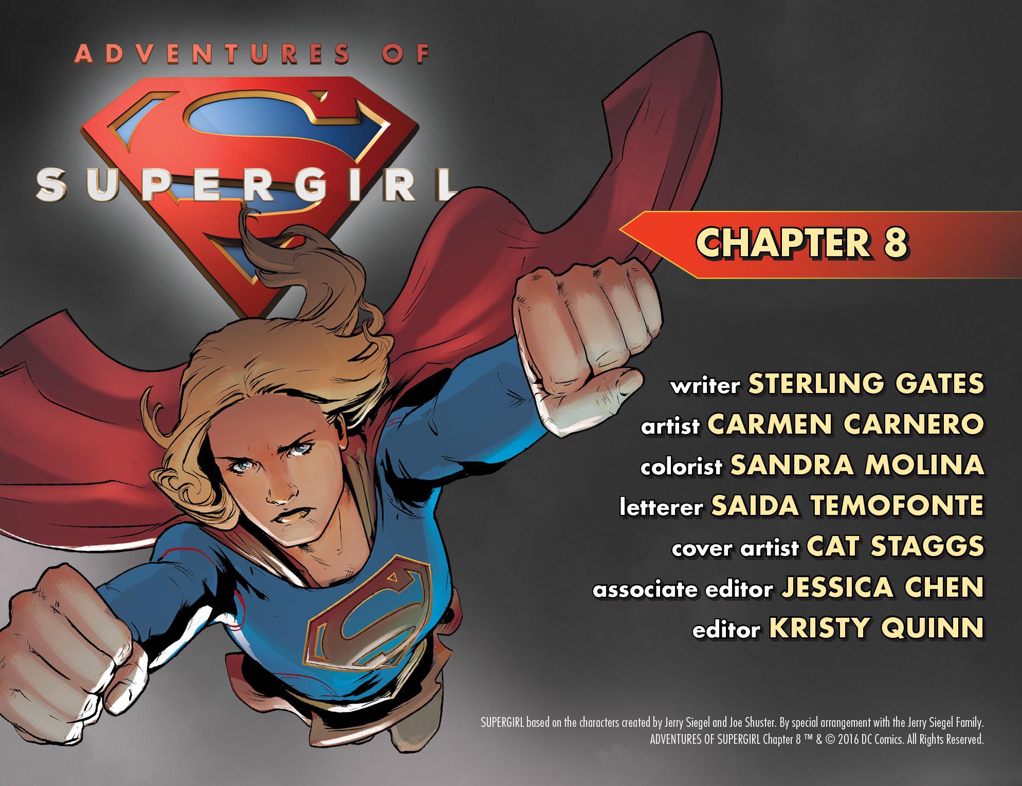 Read online Adventures of Supergirl comic -  Issue #8 - 2