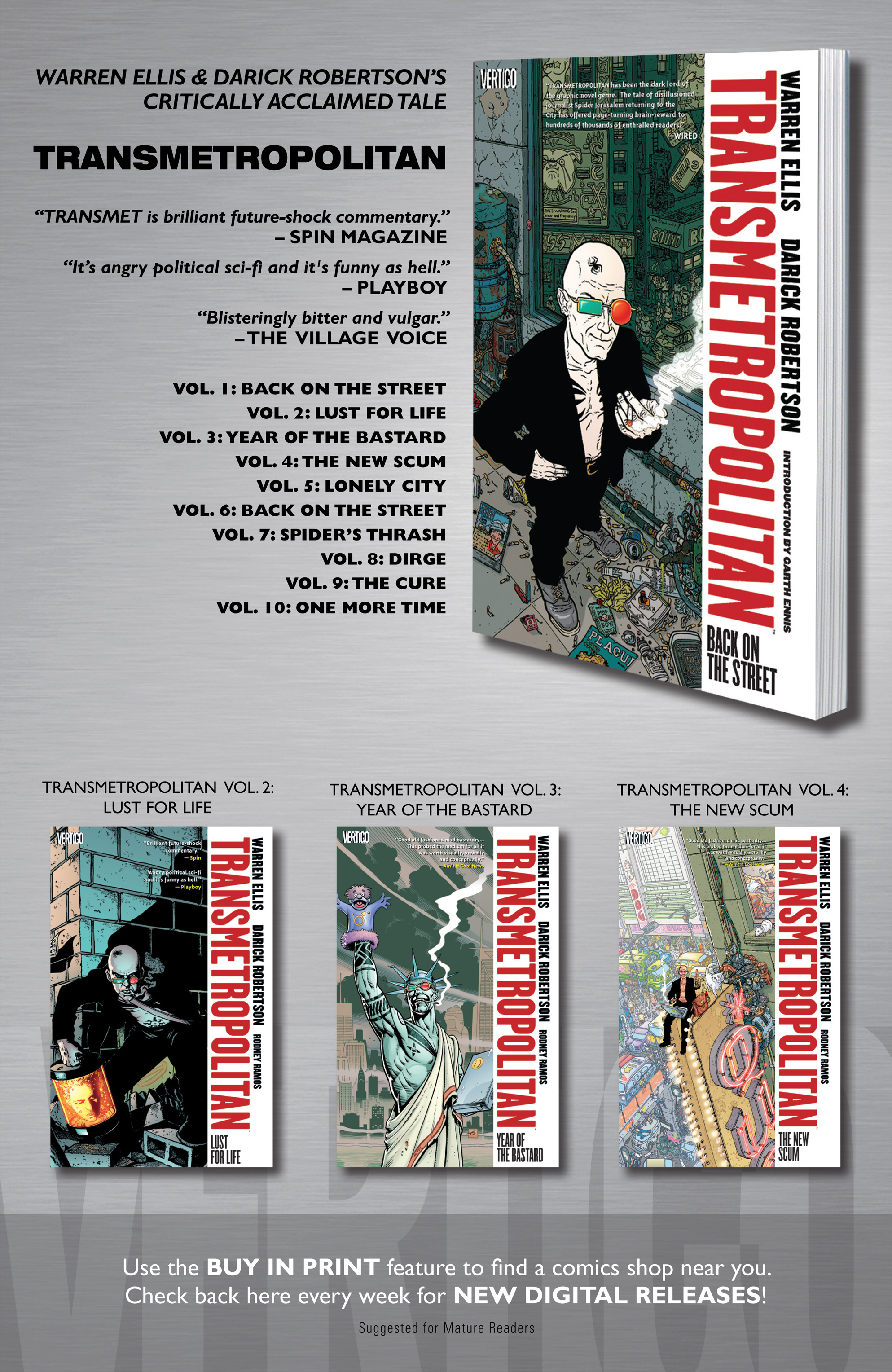 Read online Transmetropolitan comic -  Issue #32 - 23