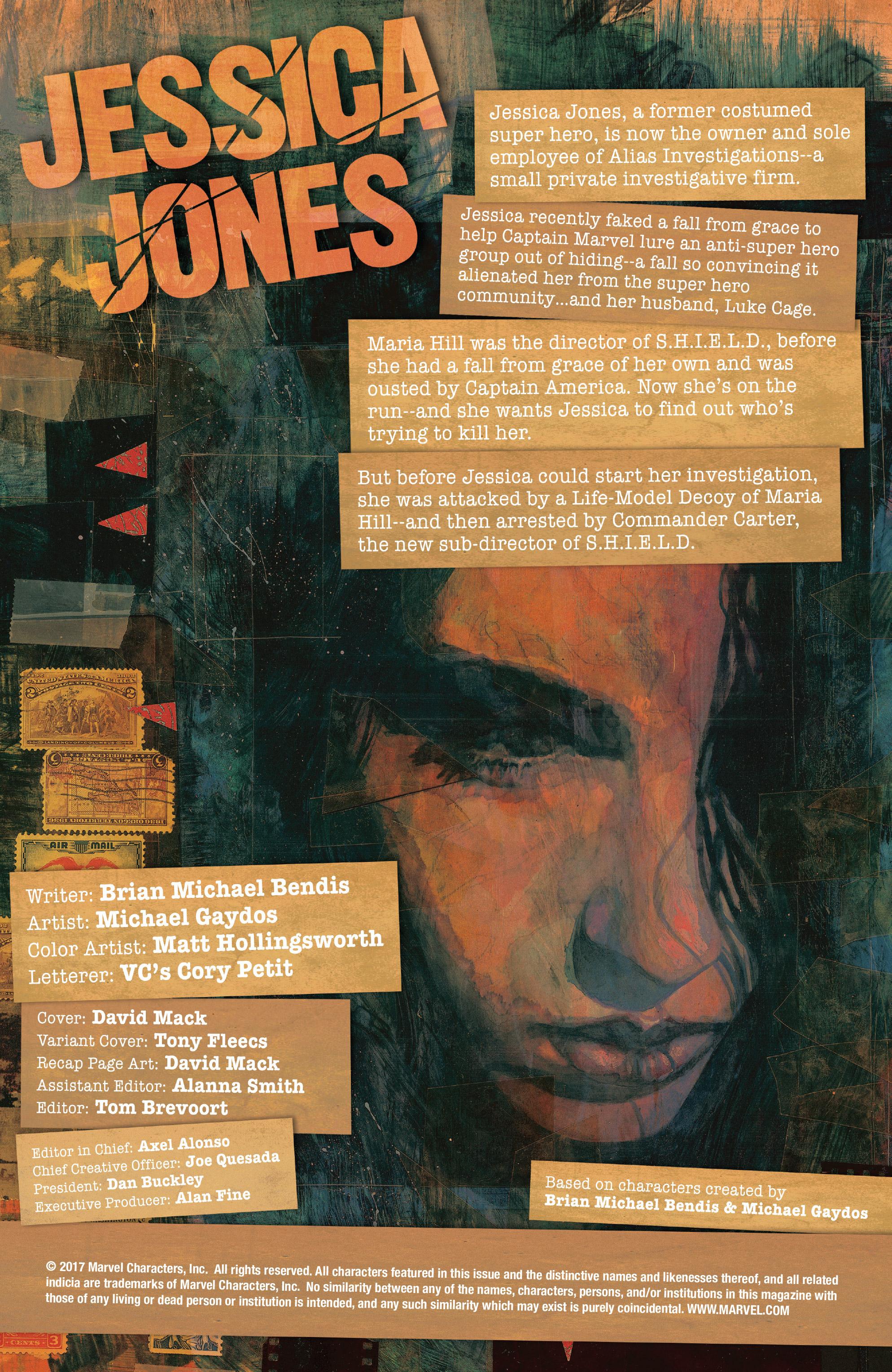 Read online Jessica Jones (2016) comic -  Issue #9 - 2