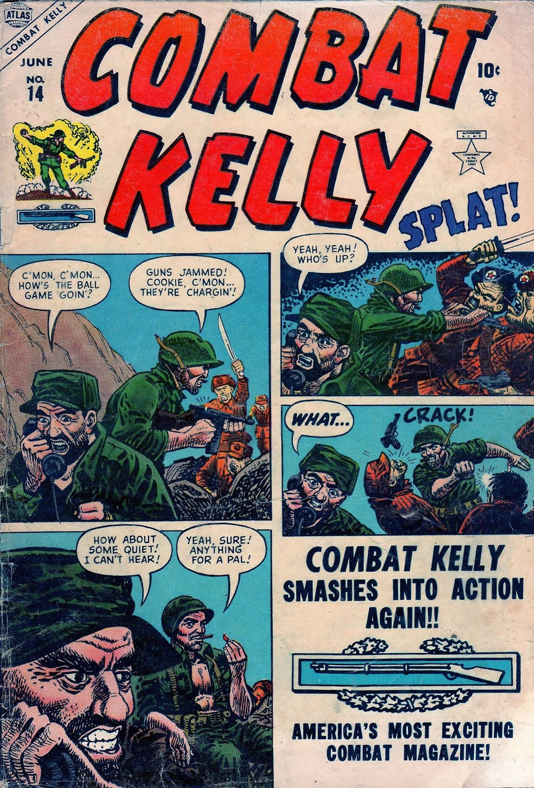 Combat Kelly (1951) 14 Page 1