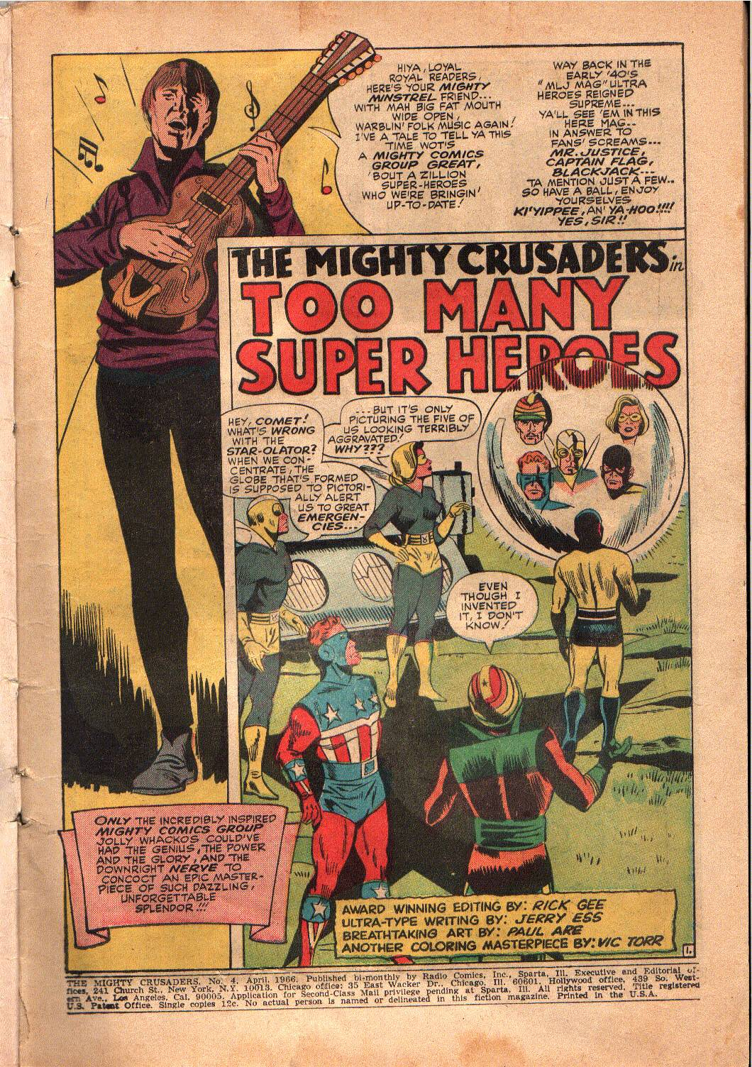 The Mighty Crusaders (1965) Issue #4 #4 - English 2