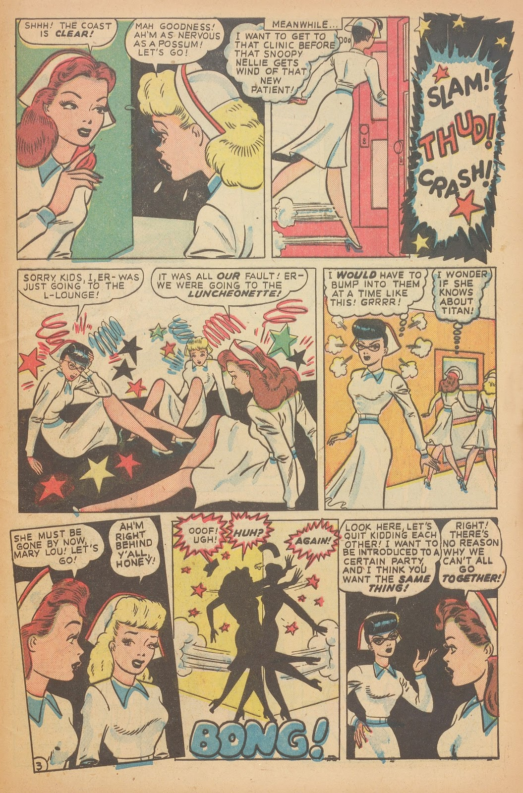 Read online Nellie The Nurse (1945) comic -  Issue #15 - 45