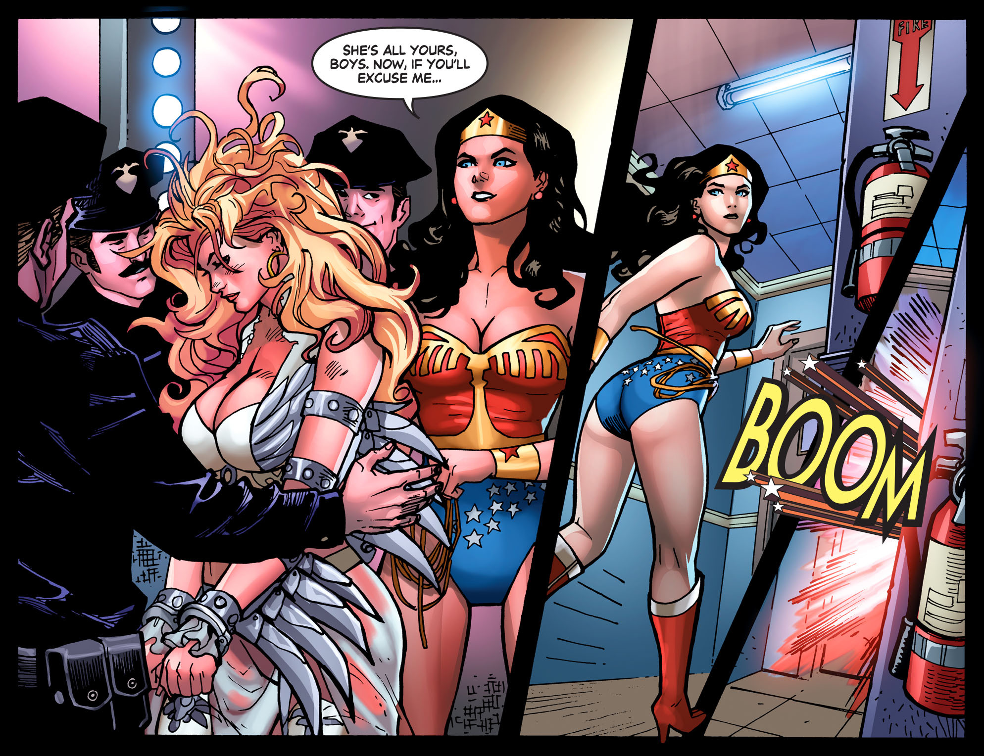 Read online Wonder Woman '77 [I] comic -  Issue #3 - 20