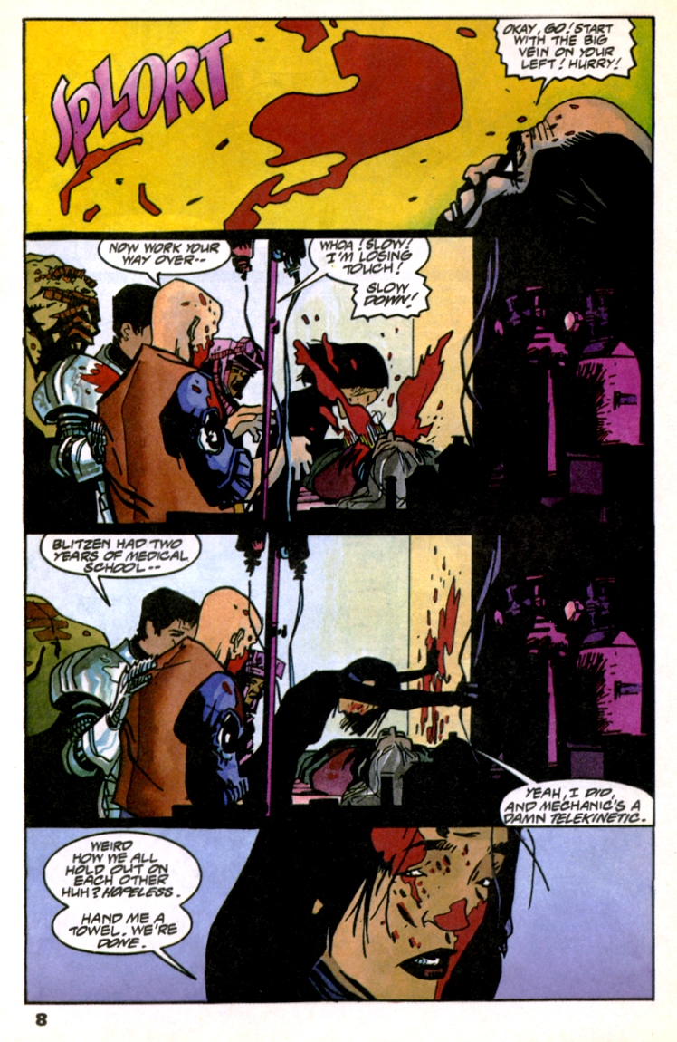 Read online Shadow Cabinet comic -  Issue #10 - 10