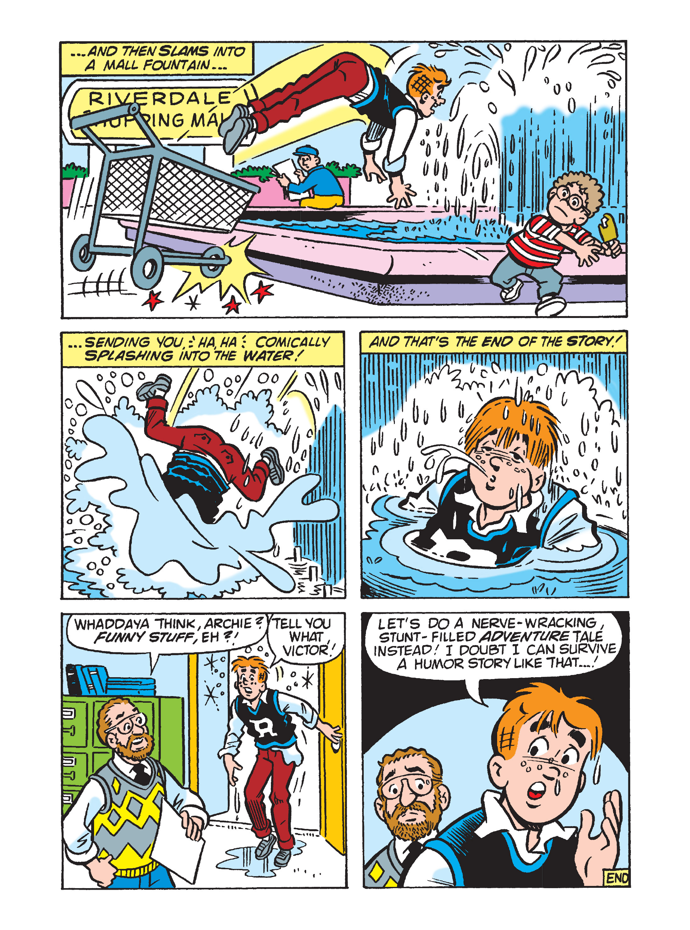 Read online Archie's Funhouse Double Digest comic -  Issue #8 - 83