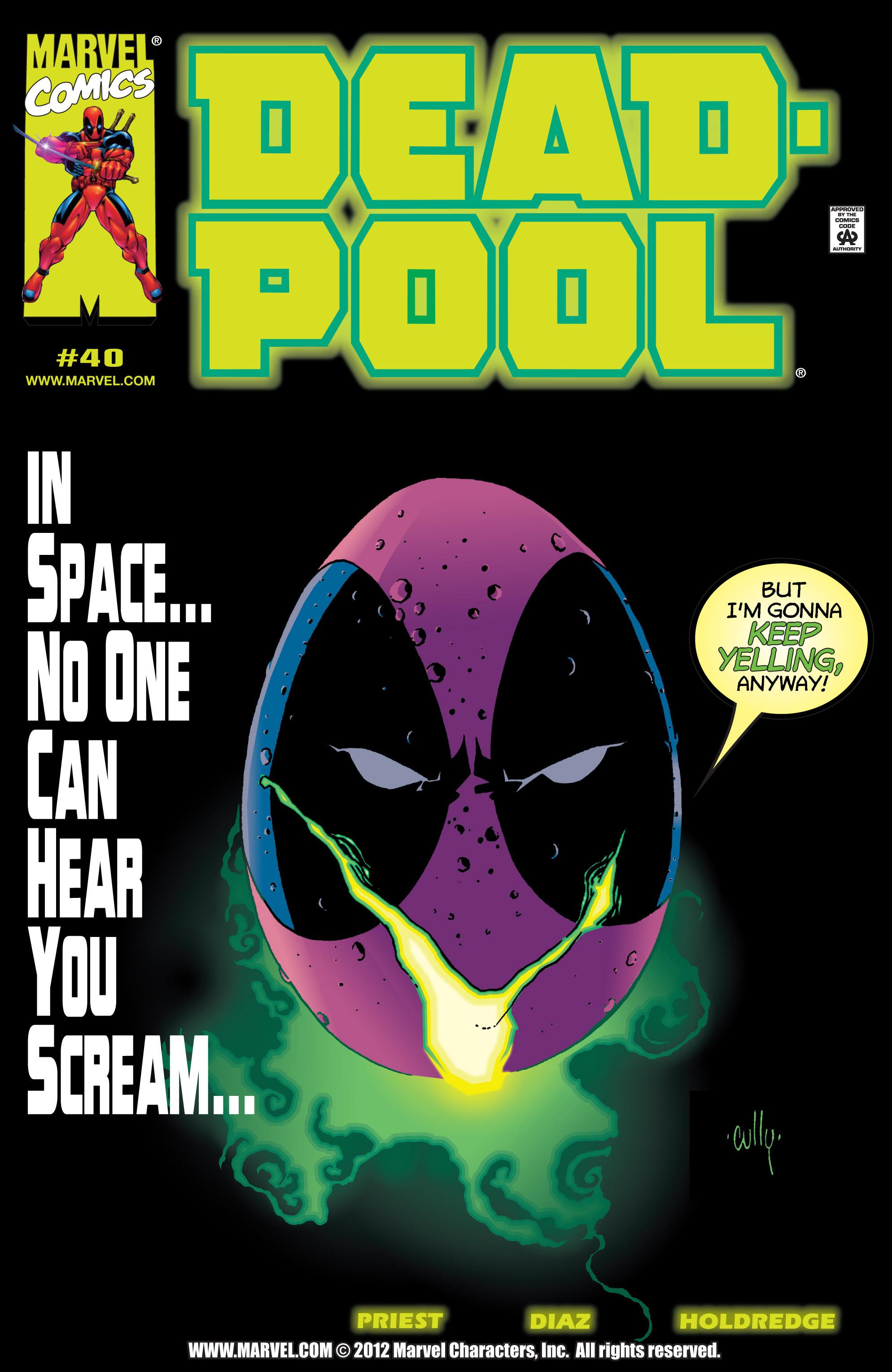 Deadpool (1997) 40 Page 1
