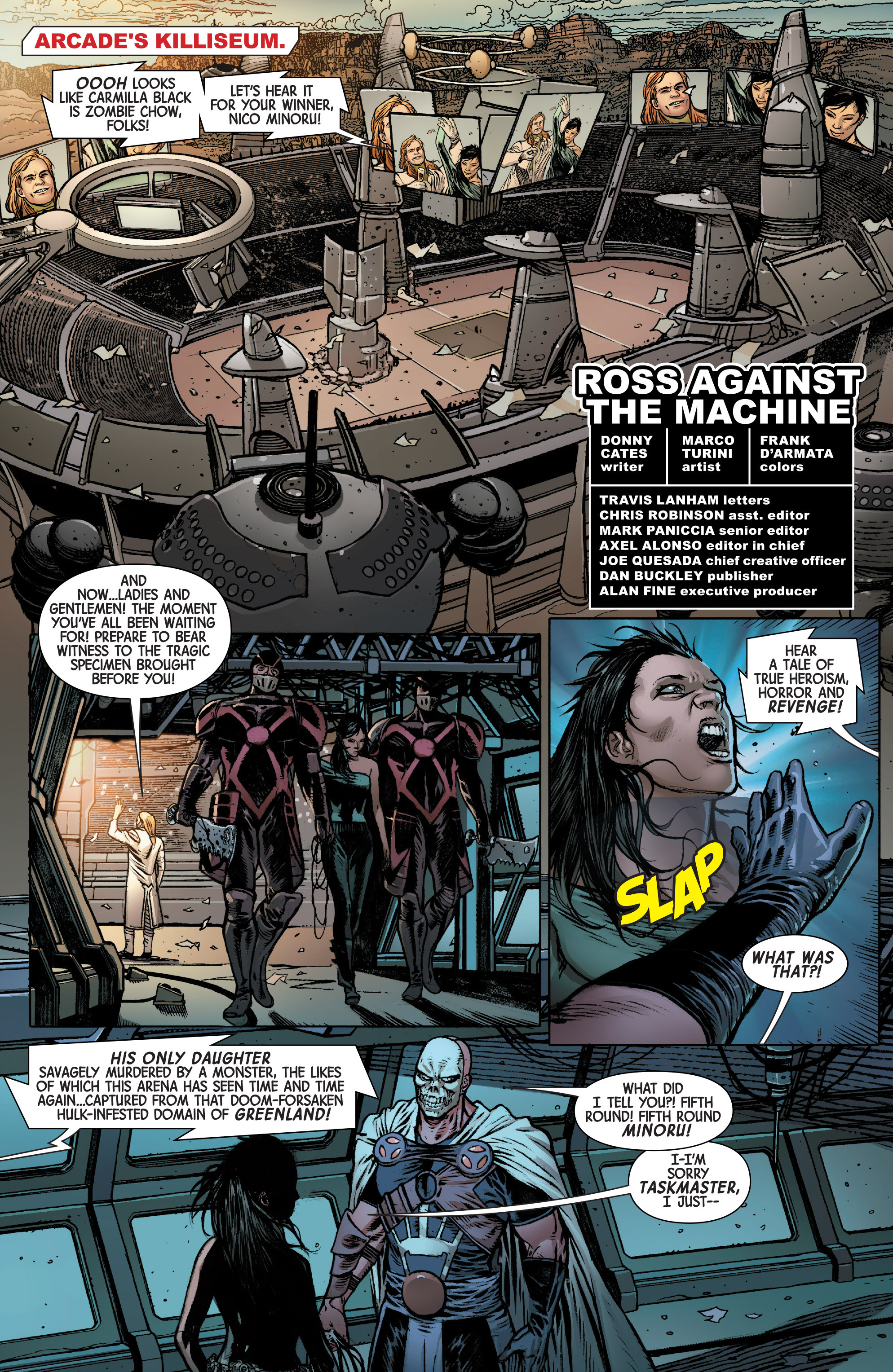 Read online Secret Wars Journal/Battleworld comic -  Issue # TPB - 154
