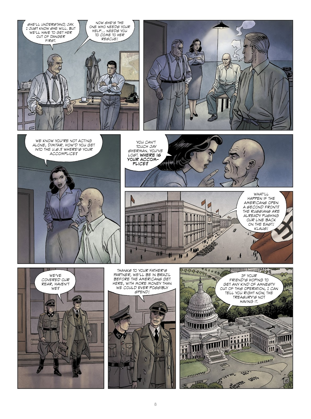 Read online Sherman comic -  Issue #6 - 8