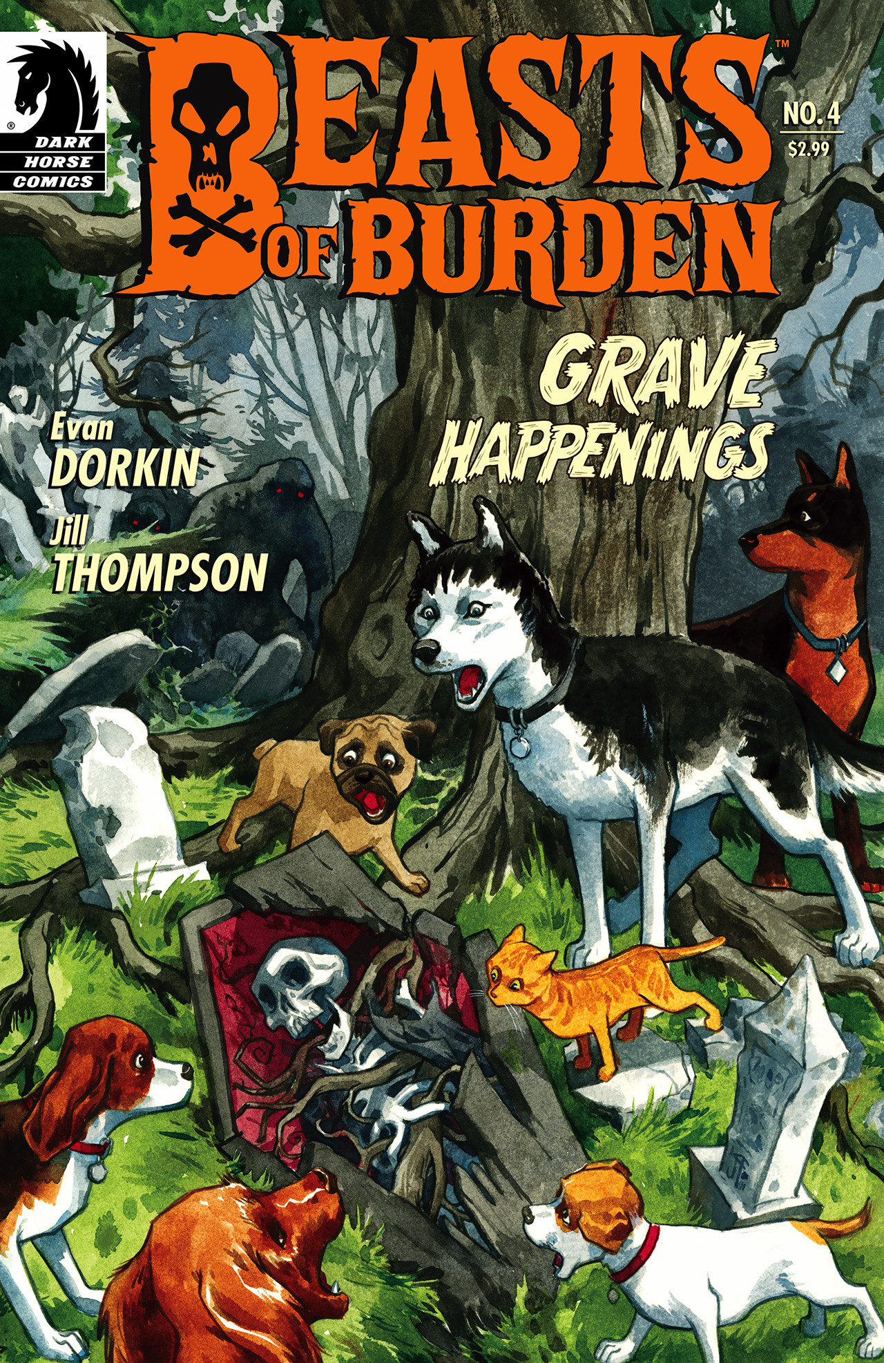 Beasts of Burden 4 Page 1