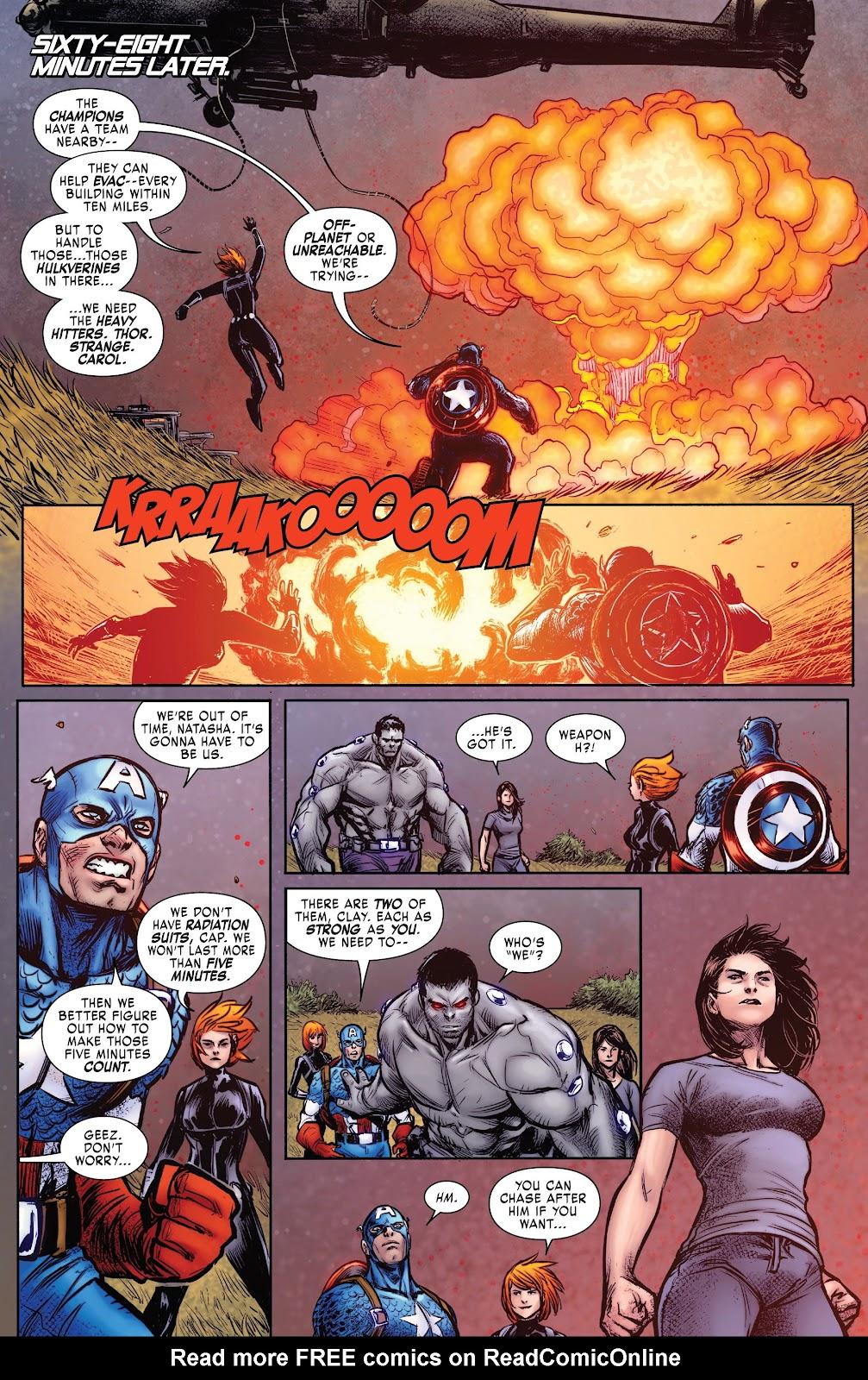 Read online Hulkverines comic -  Issue #3 - 18