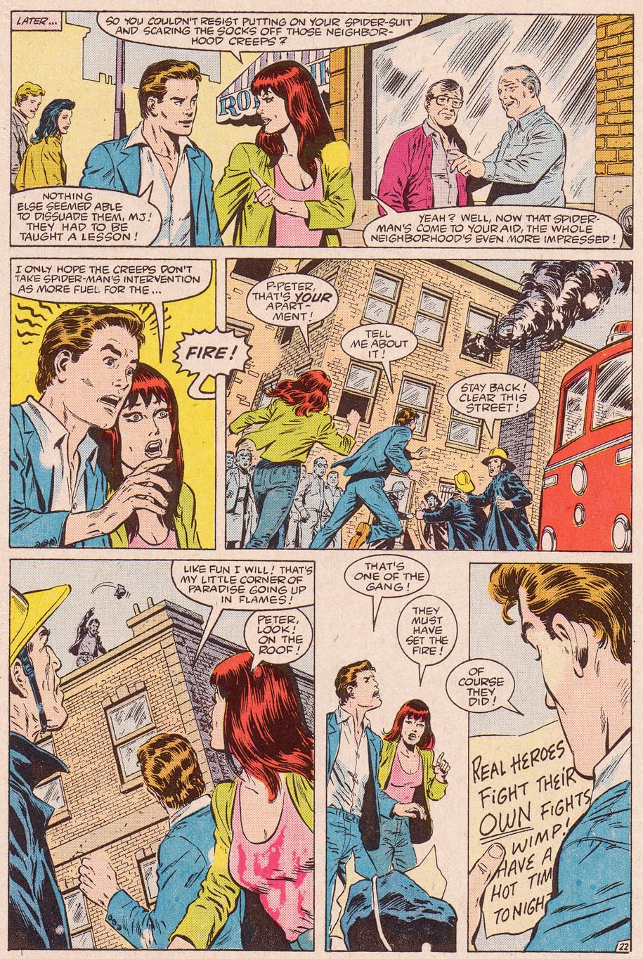 Web of Spider-Man (1985) Issue #11 #21 - English 23