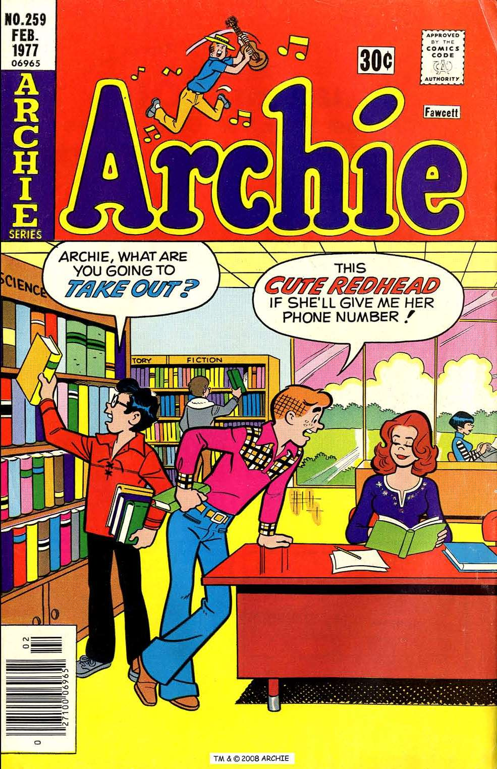 Read online Archie (1960) comic -  Issue #259 - 1
