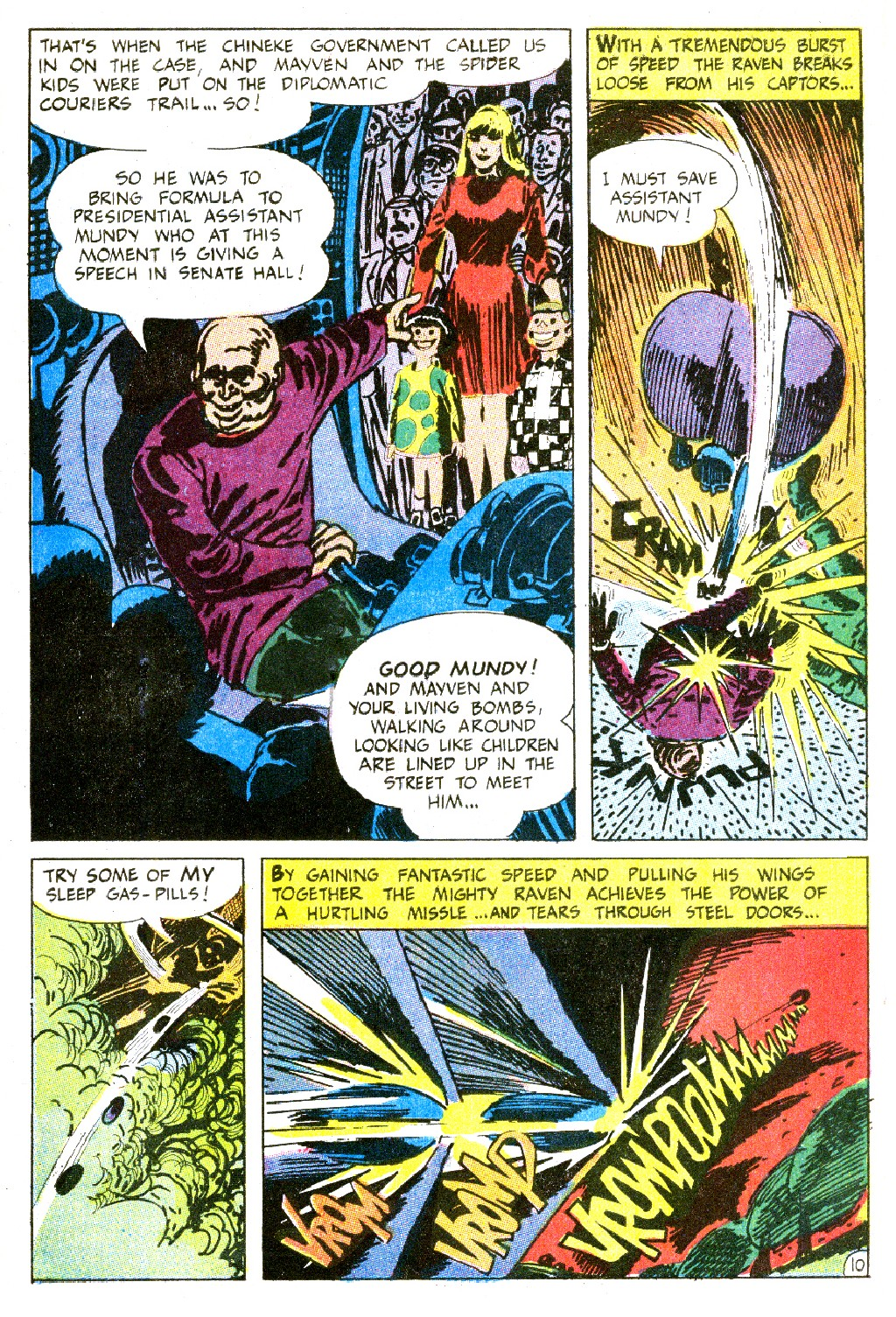 T.H.U.N.D.E.R. Agents (1965) issue 9 - Page 64