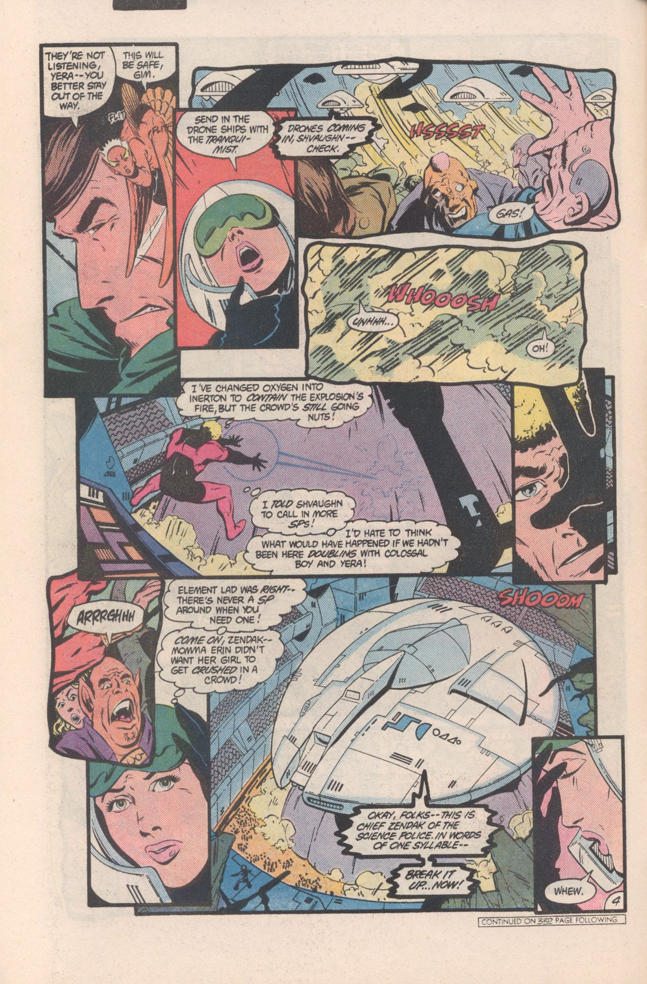 Legion of Super-Heroes (1980) 312 Page 4