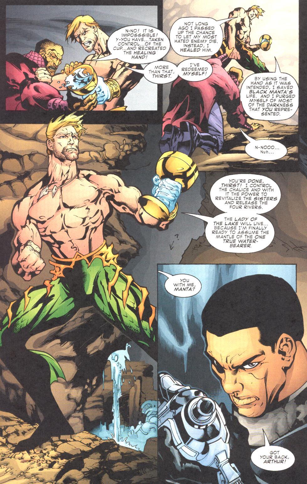 Read online Aquaman (2003) comic -  Issue #11 - 16