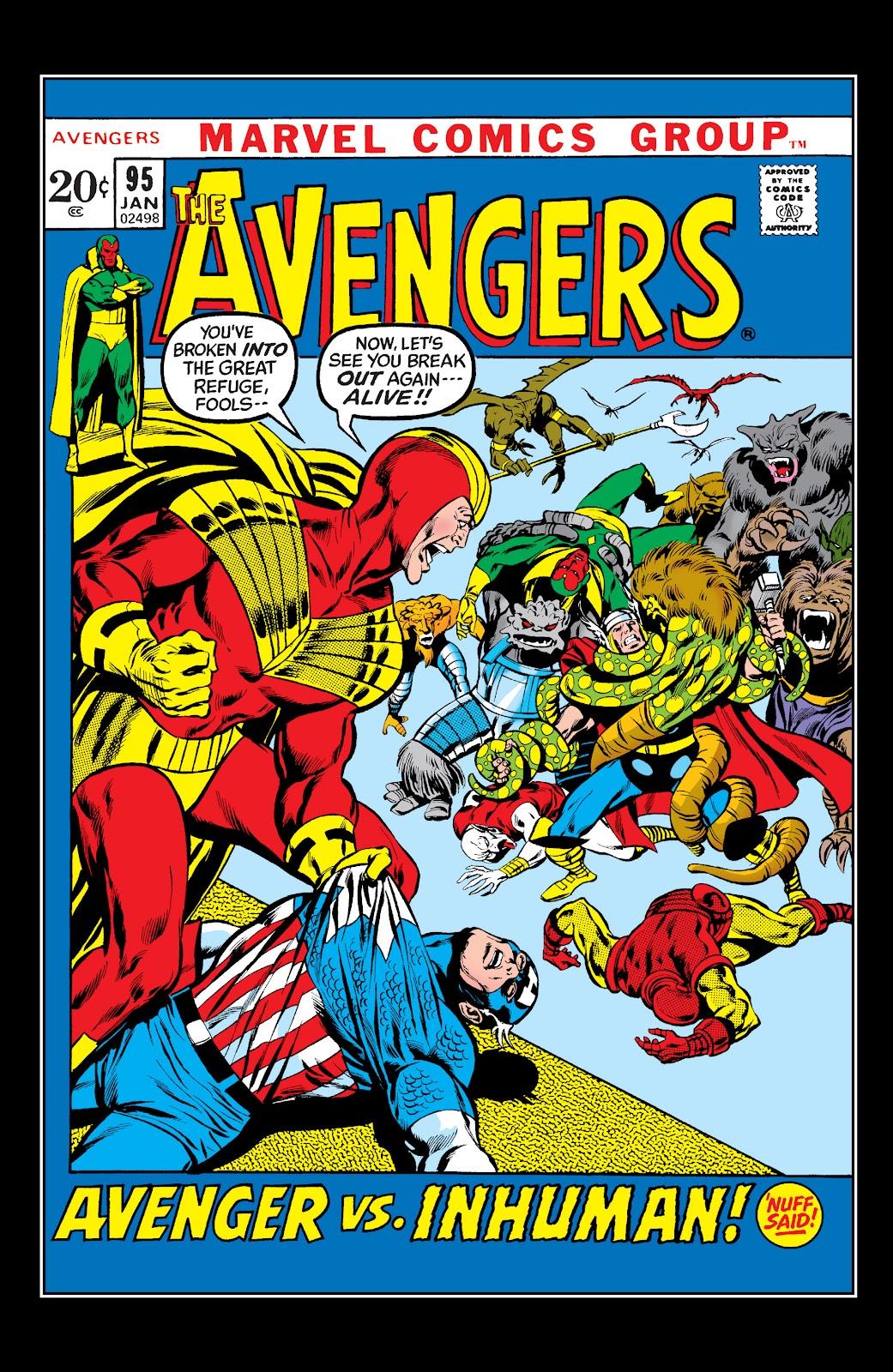 Read online Marvel Masterworks: The Inhumans comic -  Issue # TPB 1 (Part 2) - 95