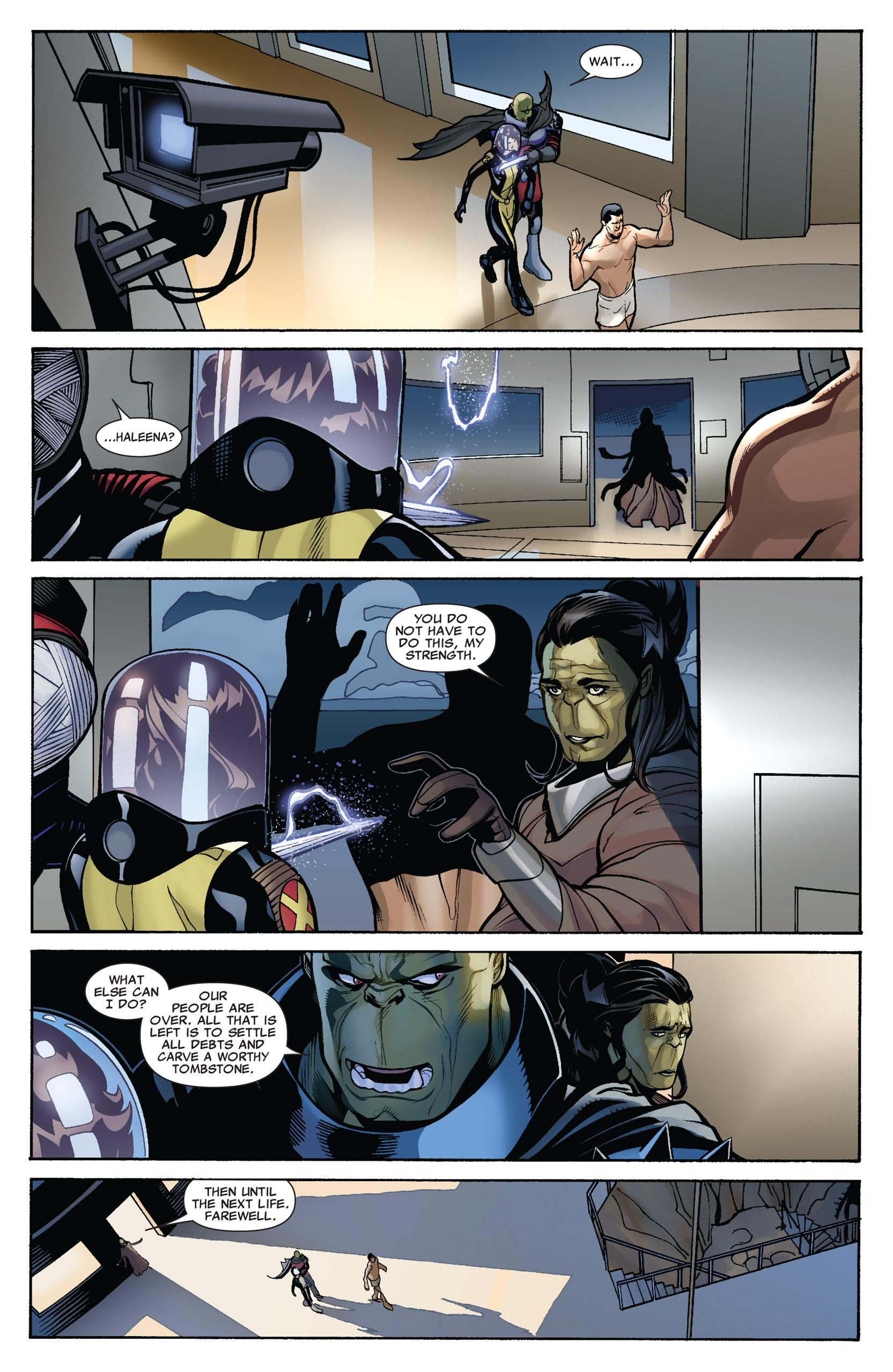 Read online Uncanny X-Men (1963) comic -  Issue #537 - 7