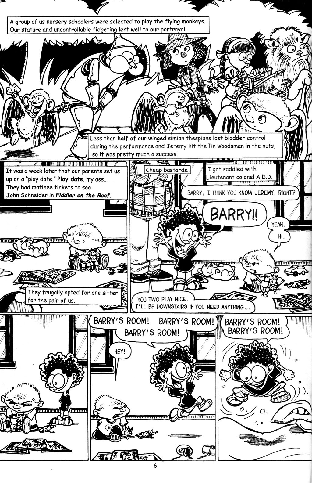 Read online The Adventures of Barry Ween, Boy Genius 3: Monkey Tales comic -  Issue #4 - 8