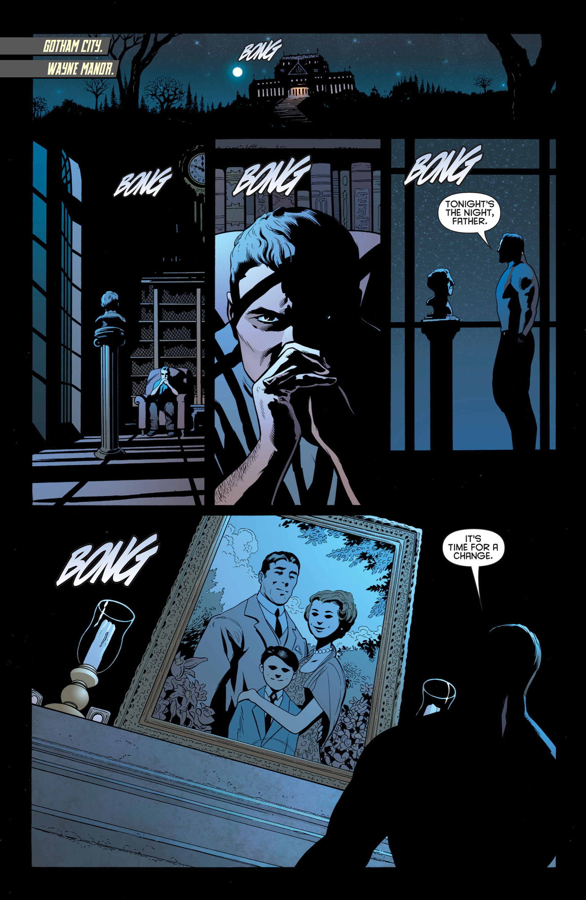 Read online Batman and Robin (2011) comic -  Issue #1 - 6