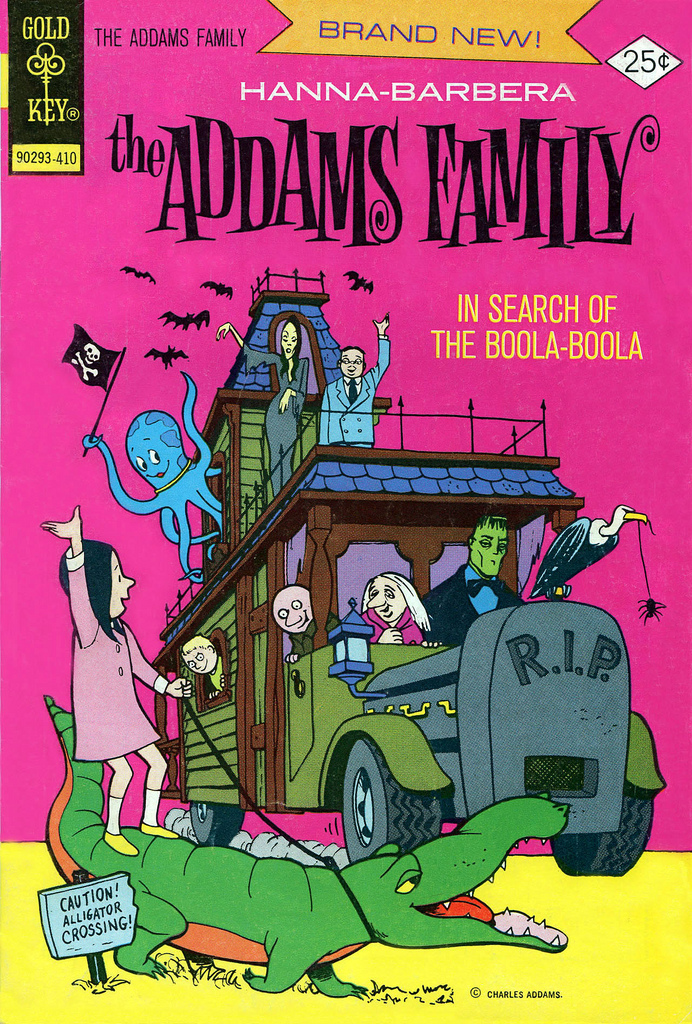 Addams Family issue 1 - Page 1