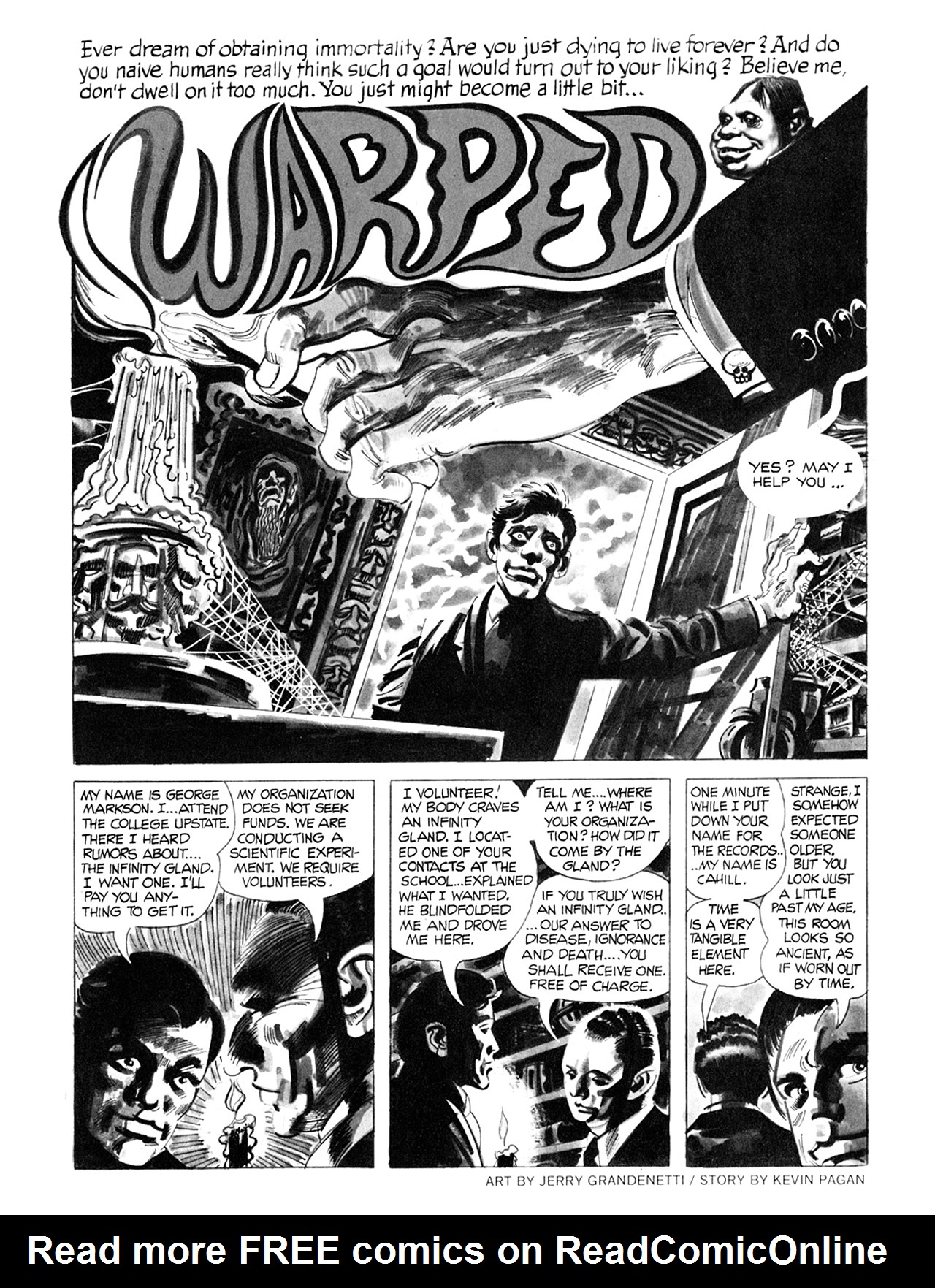 Read online Eerie Archives comic -  Issue # TPB 8 - 252