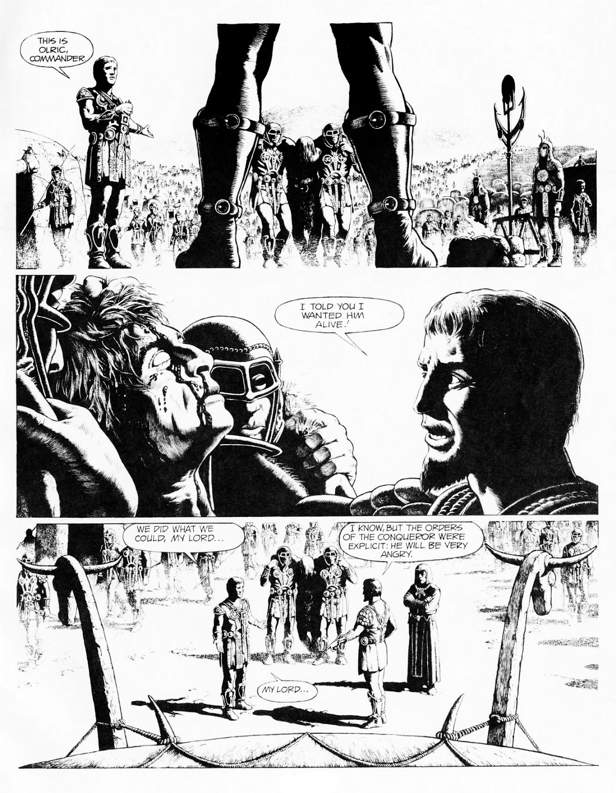 Conquering Armies issue TPB - Page 39