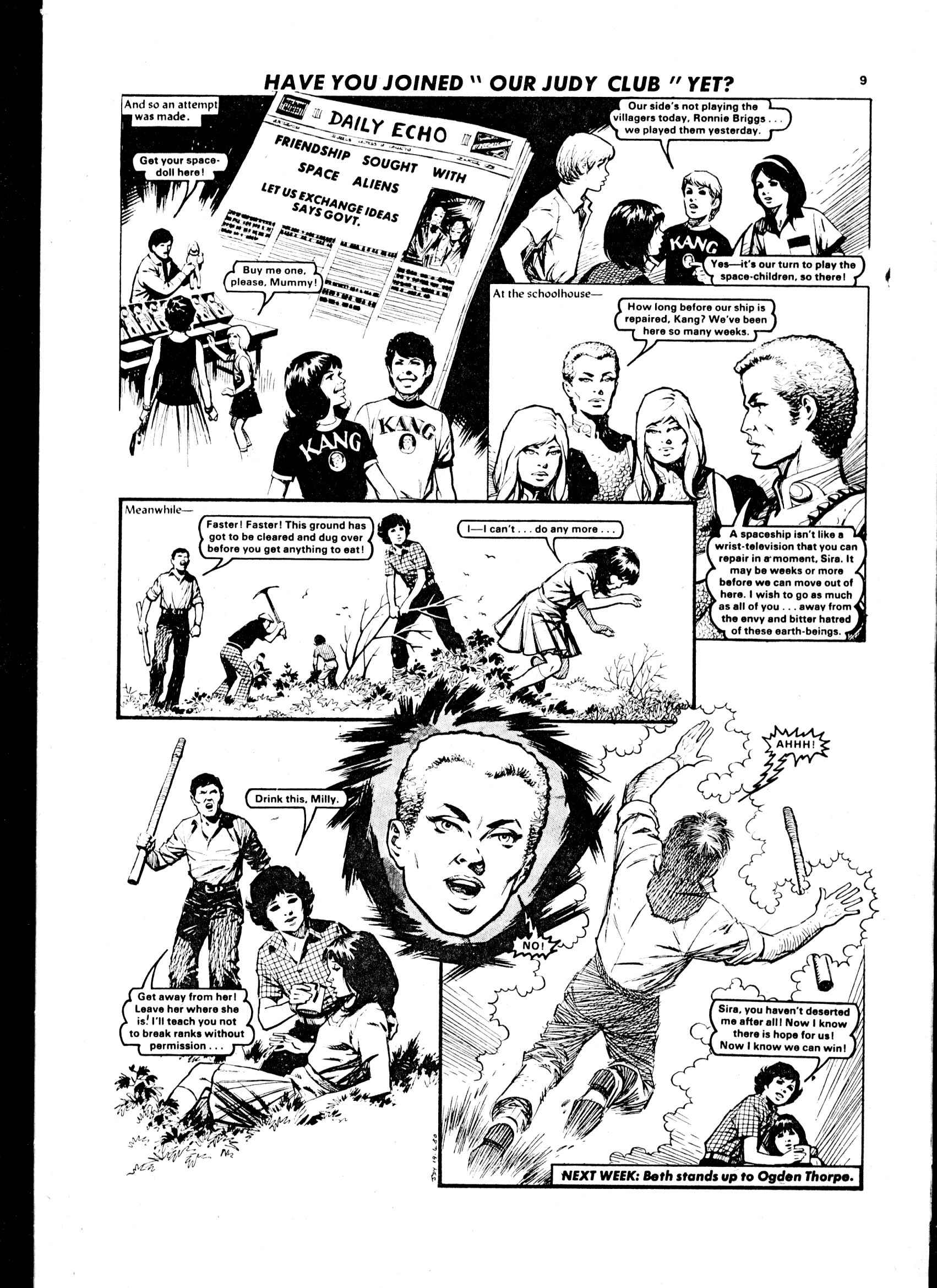 Read online Judy comic -  Issue #58 - 9