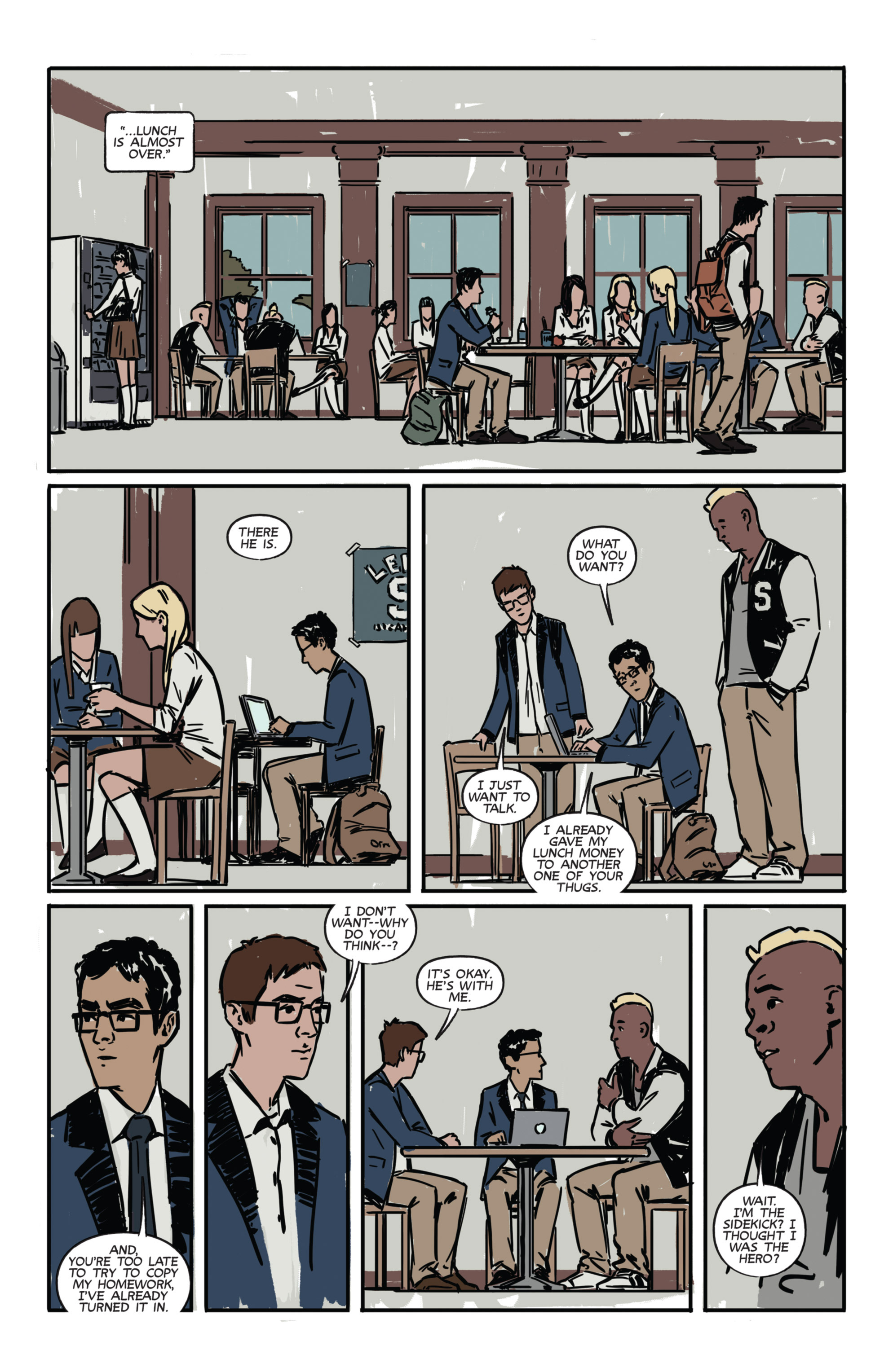 Read online Night Owl Society comic -  Issue #1 - 16