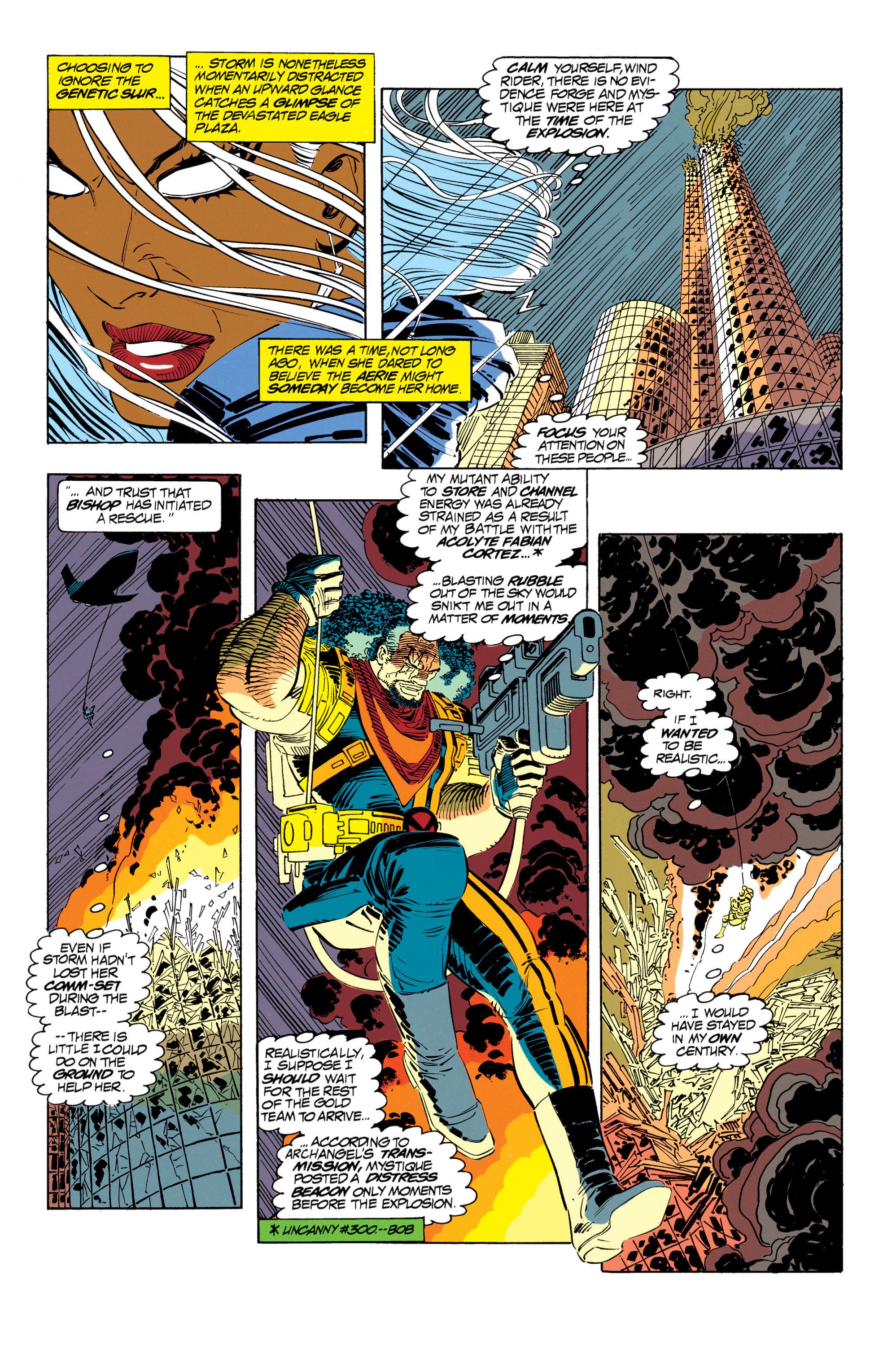Read online Uncanny X-Men (1963) comic -  Issue #302 - 5