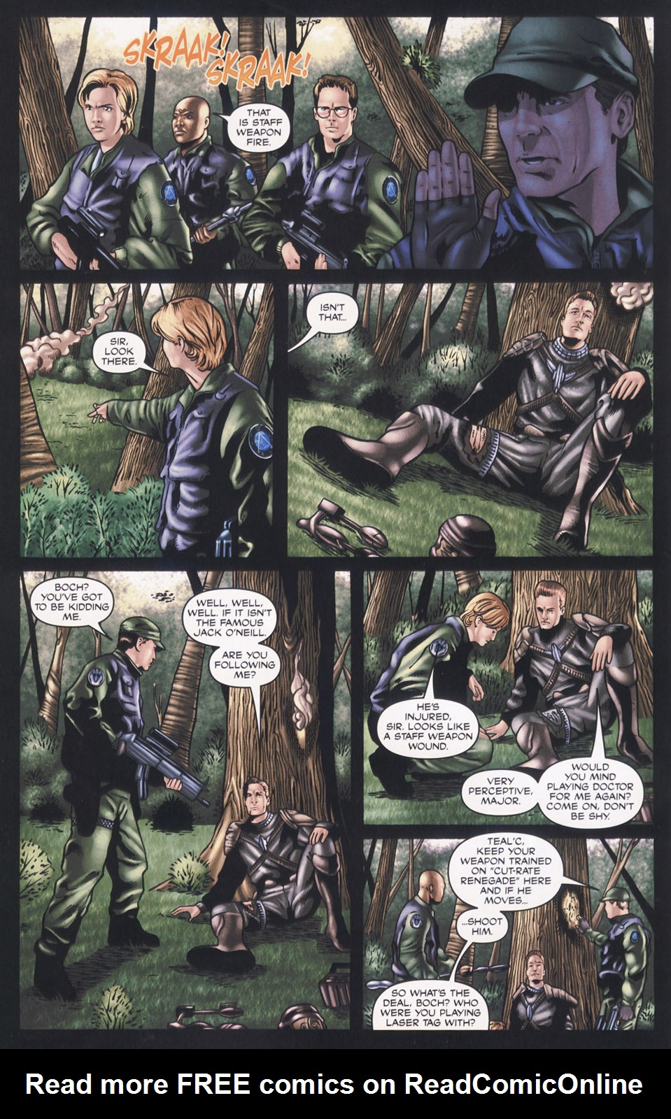Read online Stargate SG-1: Aris Boch comic -  Issue # Full - 4