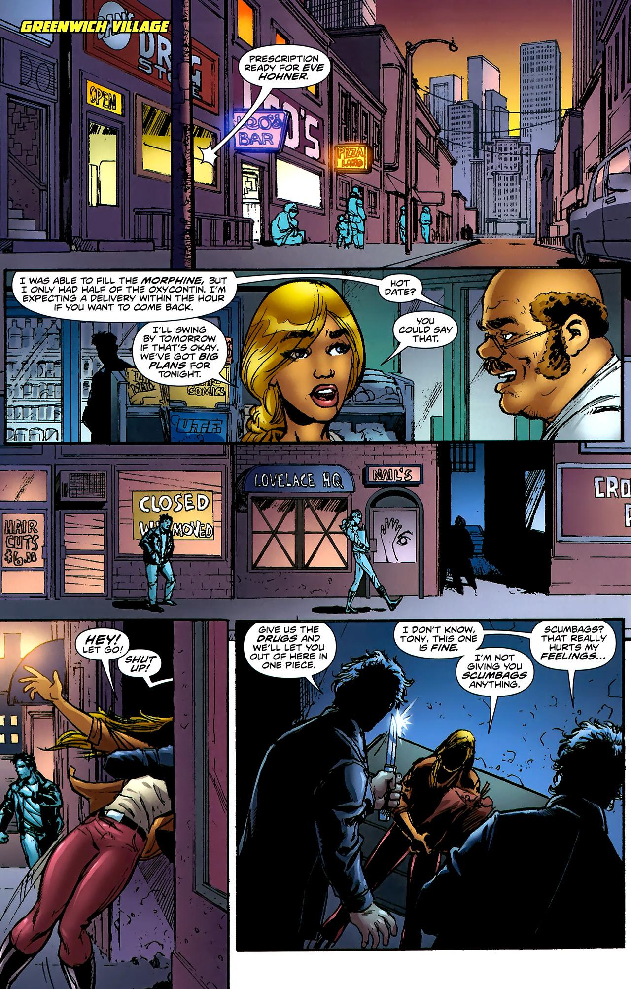 Read online ShadowHawk (2010) comic -  Issue #2 - 4