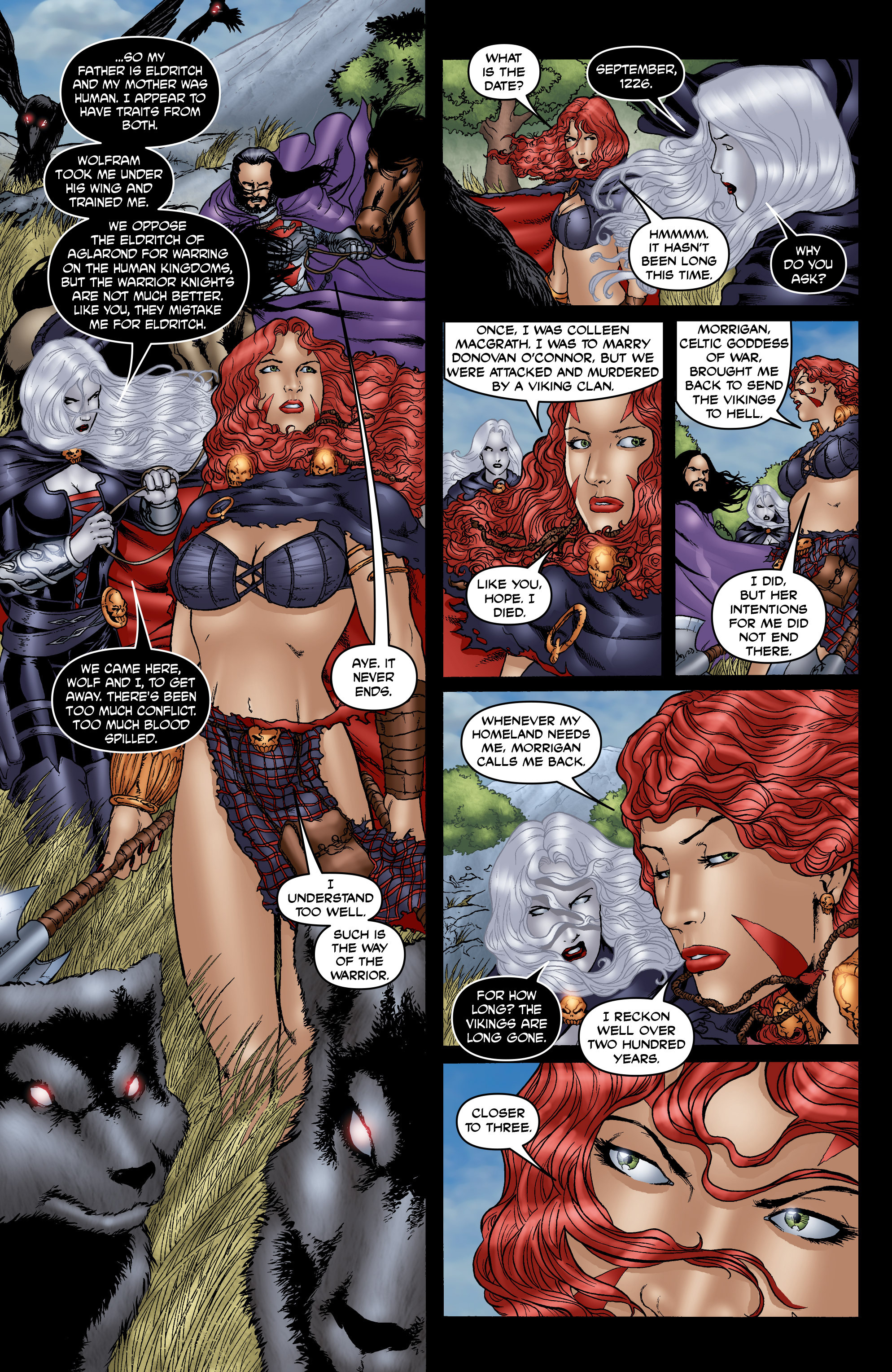 Read online Belladonna: Origins comic -  Issue #7 - 19