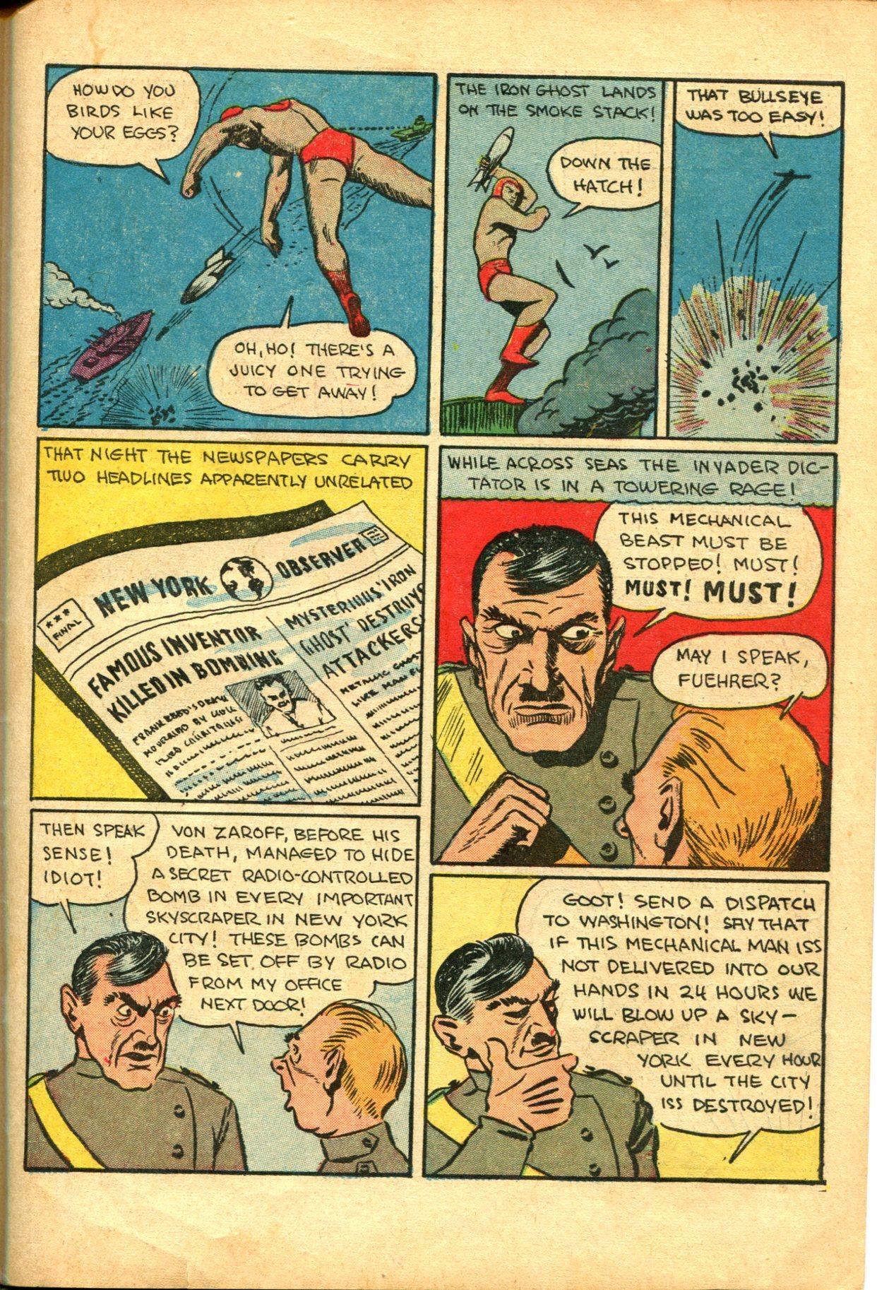 Read online Shadow Comics comic -  Issue #10 - 53