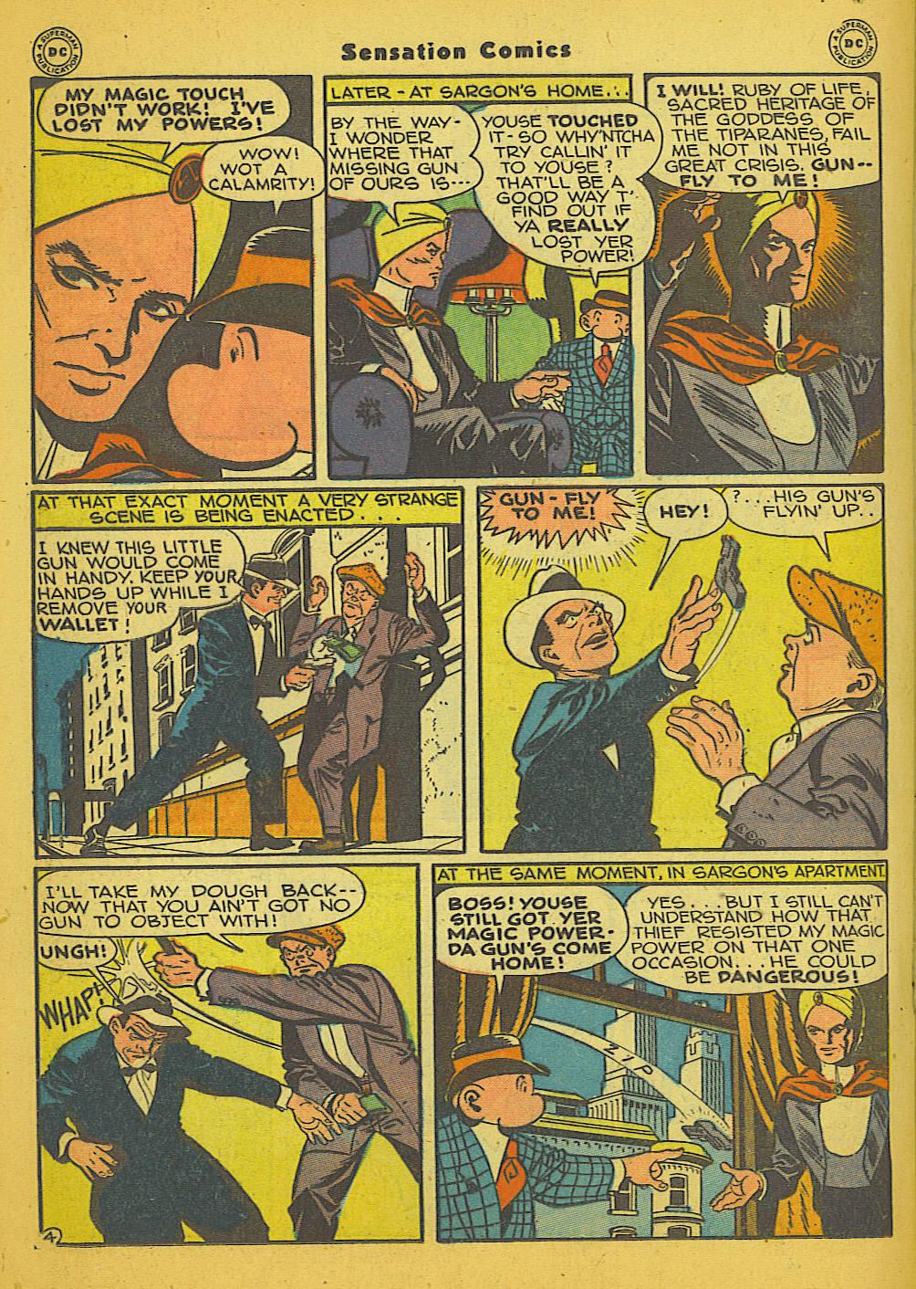 Read online Sensation (Mystery) Comics comic -  Issue #66 - 28