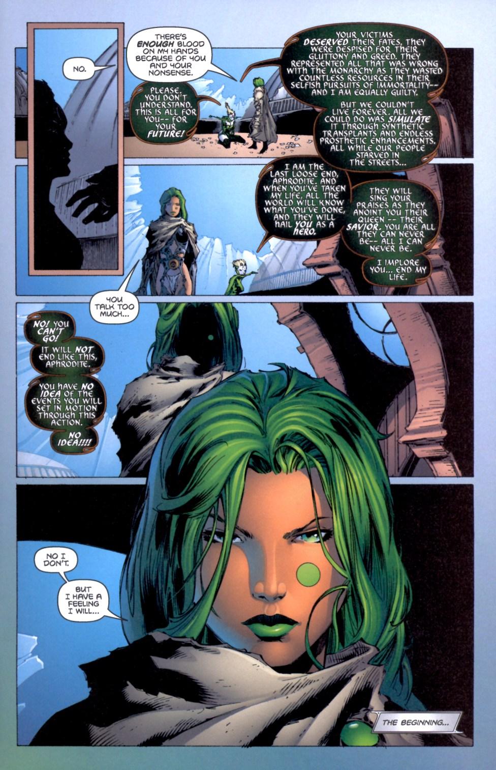 Read online Aphrodite IX (2000) comic -  Issue #4 - 37