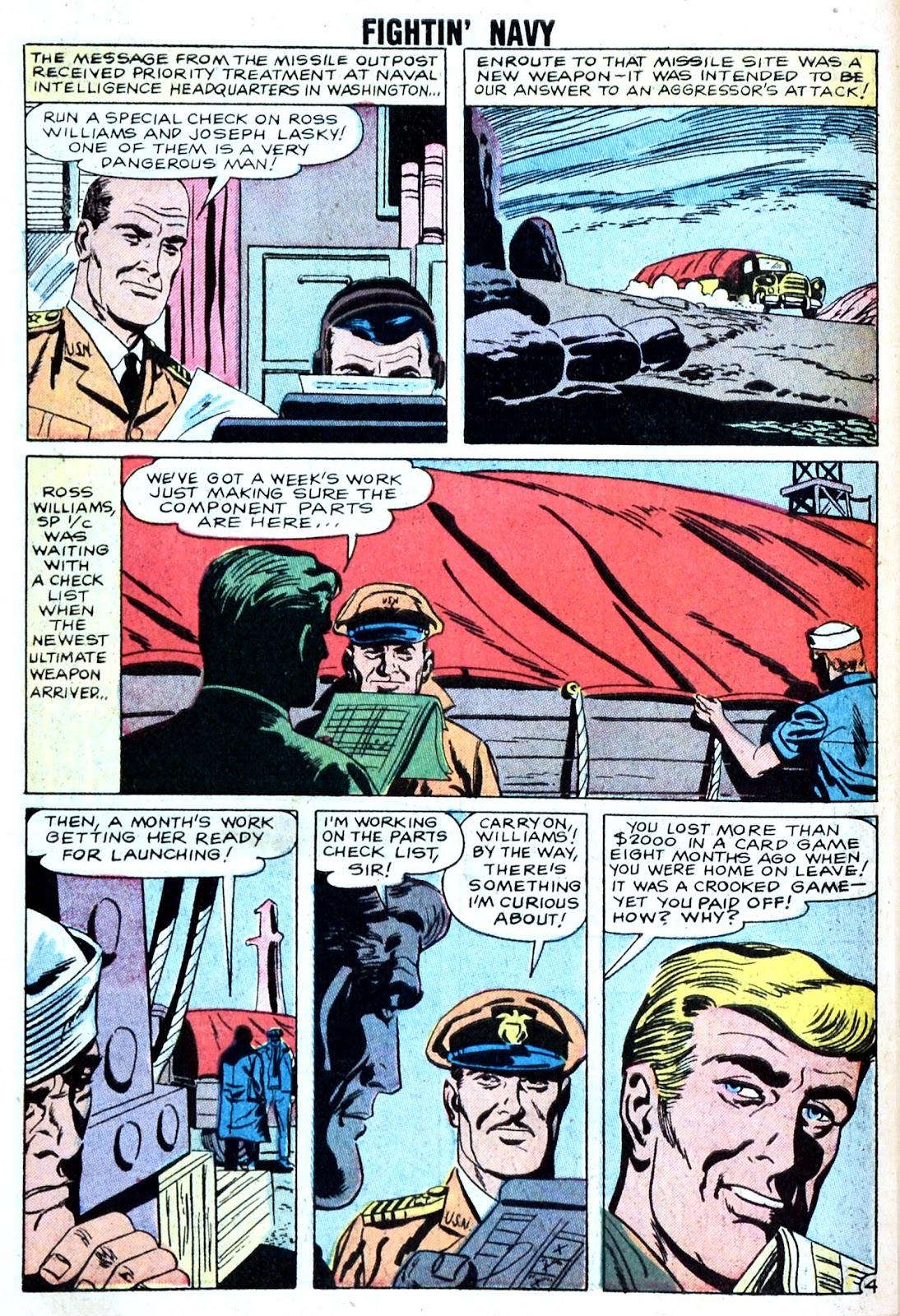 Read online Fightin' Navy comic -  Issue #85 - 30