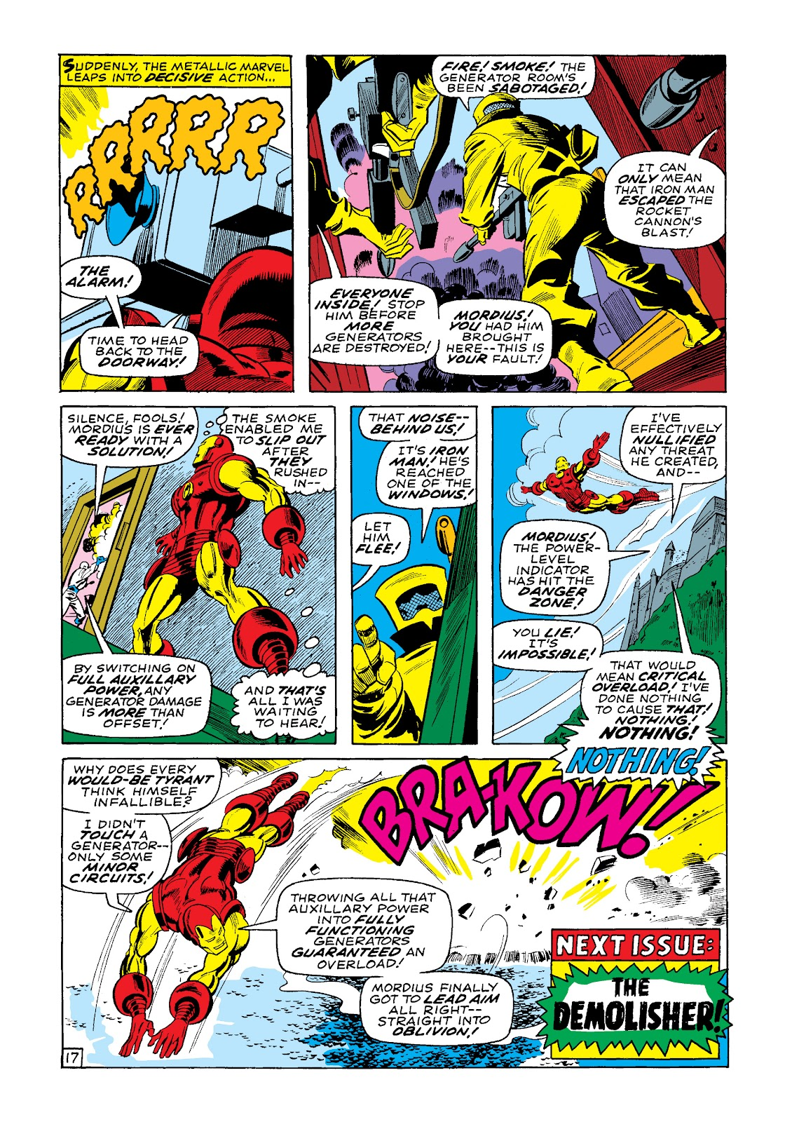 Read online Marvel Masterworks: The Invincible Iron Man comic -  Issue # TPB 4 (Part 3) - 41