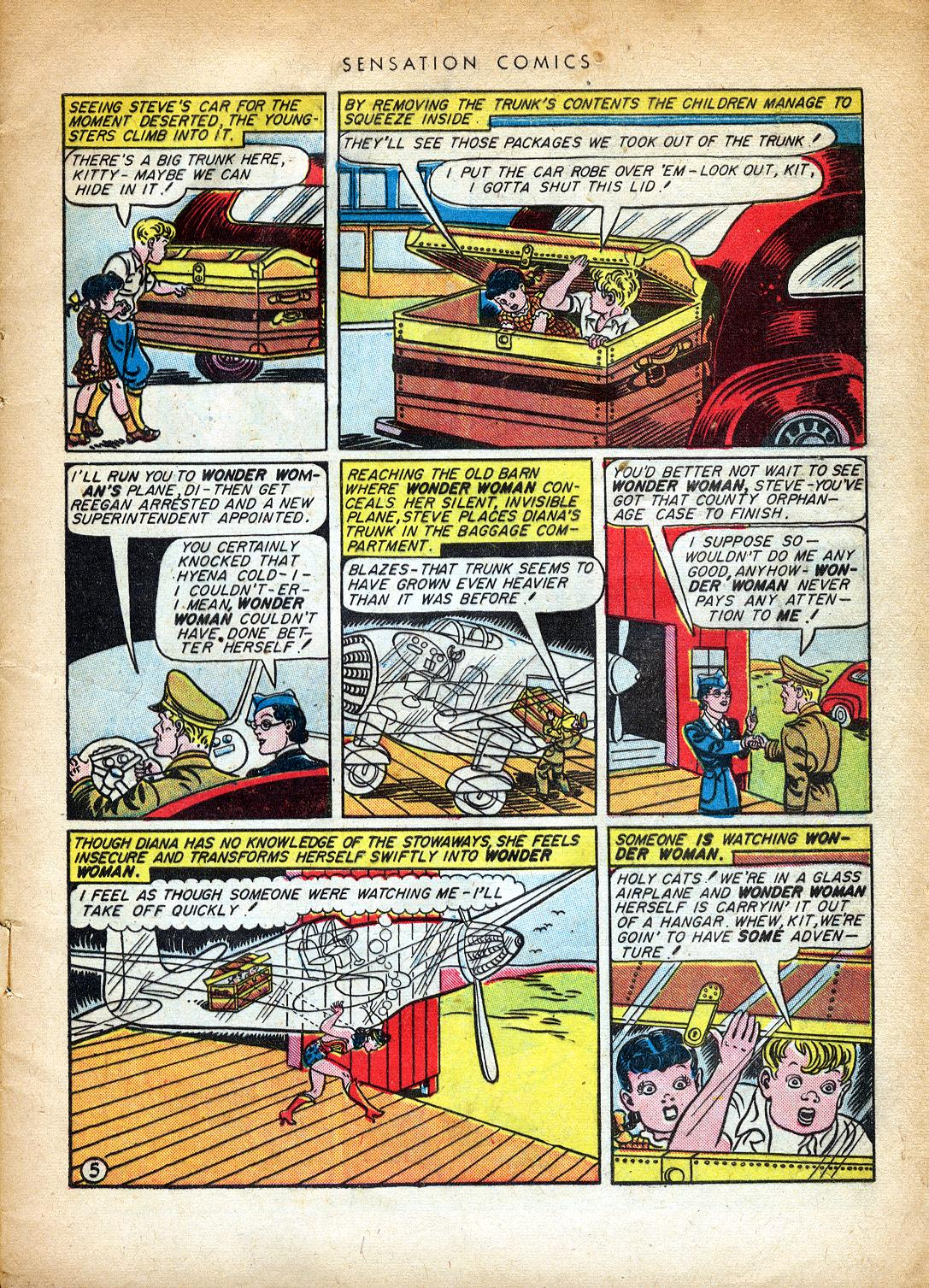 Read online Sensation (Mystery) Comics comic -  Issue #37 - 7