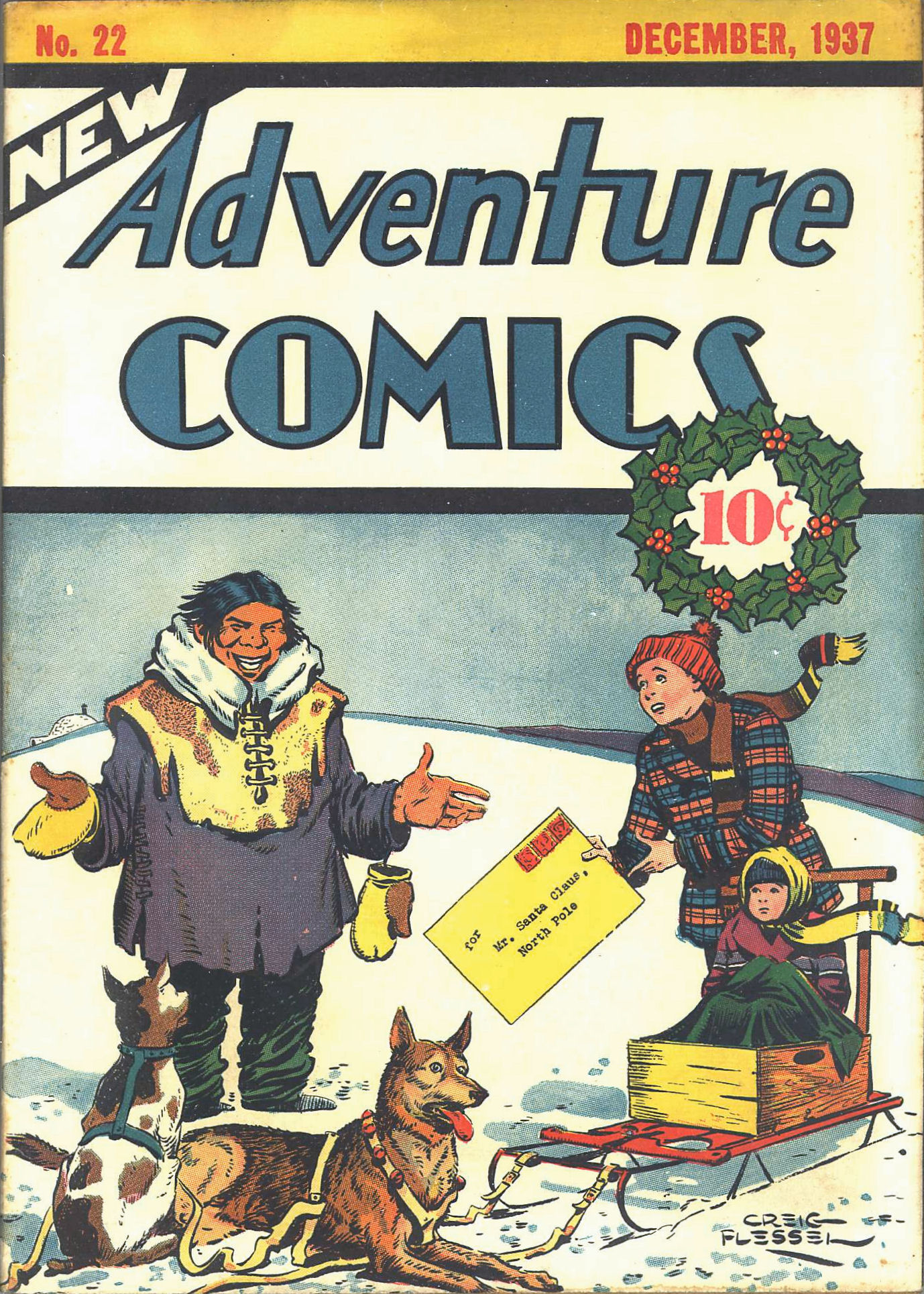 Read online Adventure Comics (1938) comic -  Issue #22 - 2