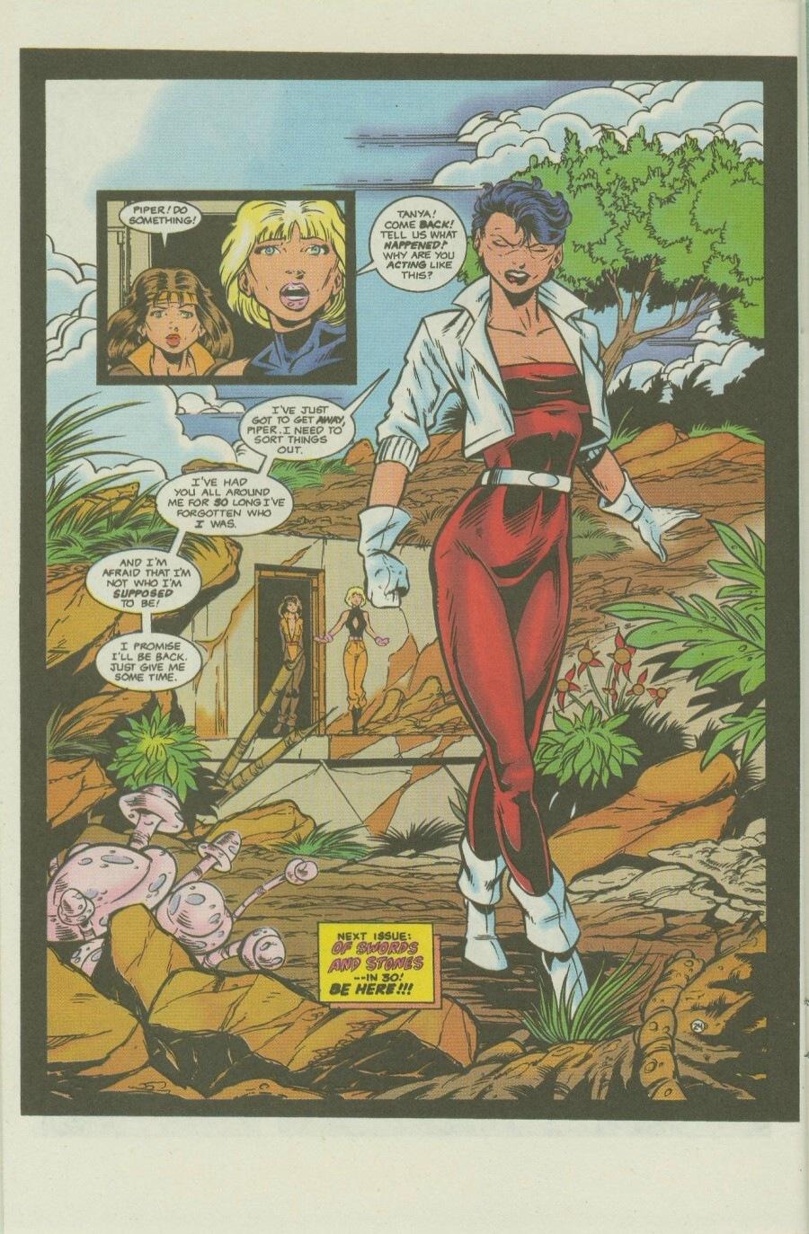 Read online Ex-Mutants comic -  Issue #8 - 29